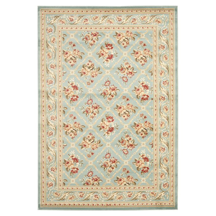 Taufner Blue Area Rug Rug Size: Rectangle 8' x 11'