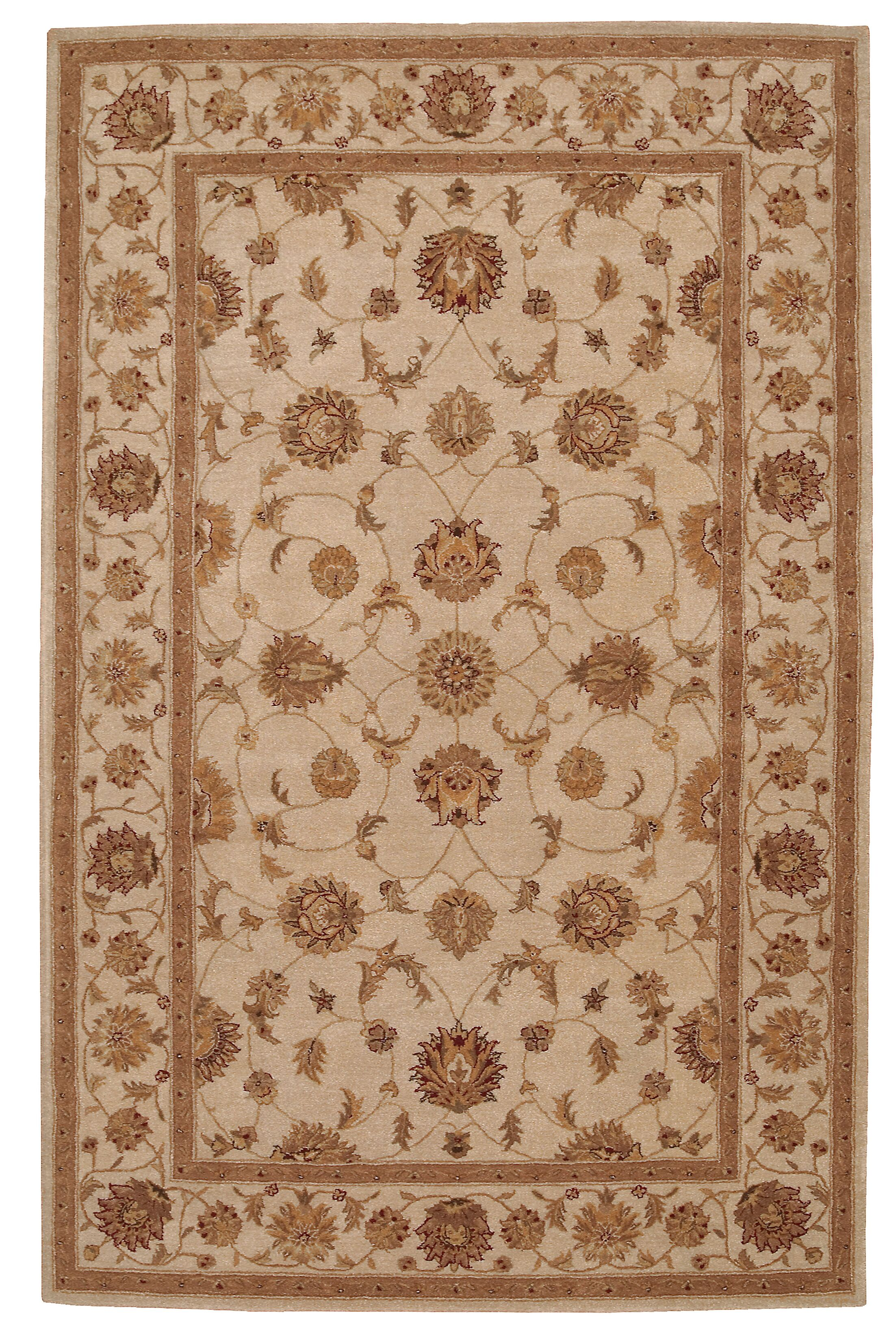Lundeen Brown Area Rug Rug Size: Rectangle 9'9