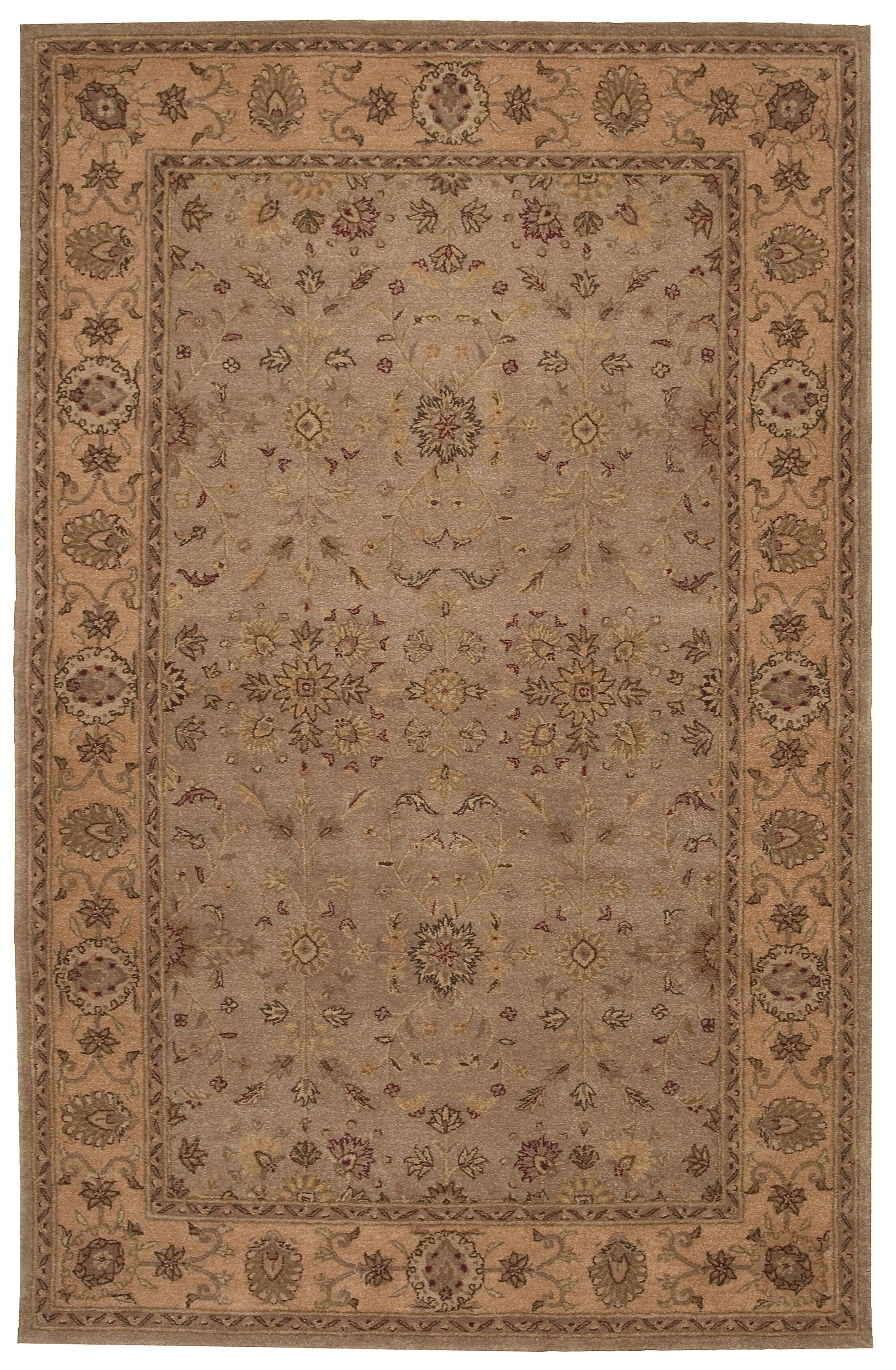 Lundeen Brown/Tan Area Rug Rug Size: Rectangle 12' x 15'