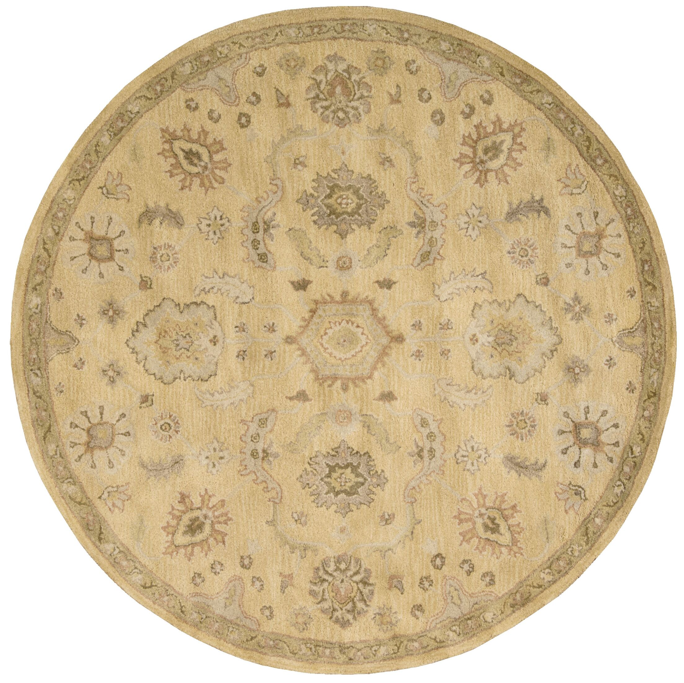 Fullmer Light Gold Area Rug Rug Size: Rectangle 9'6