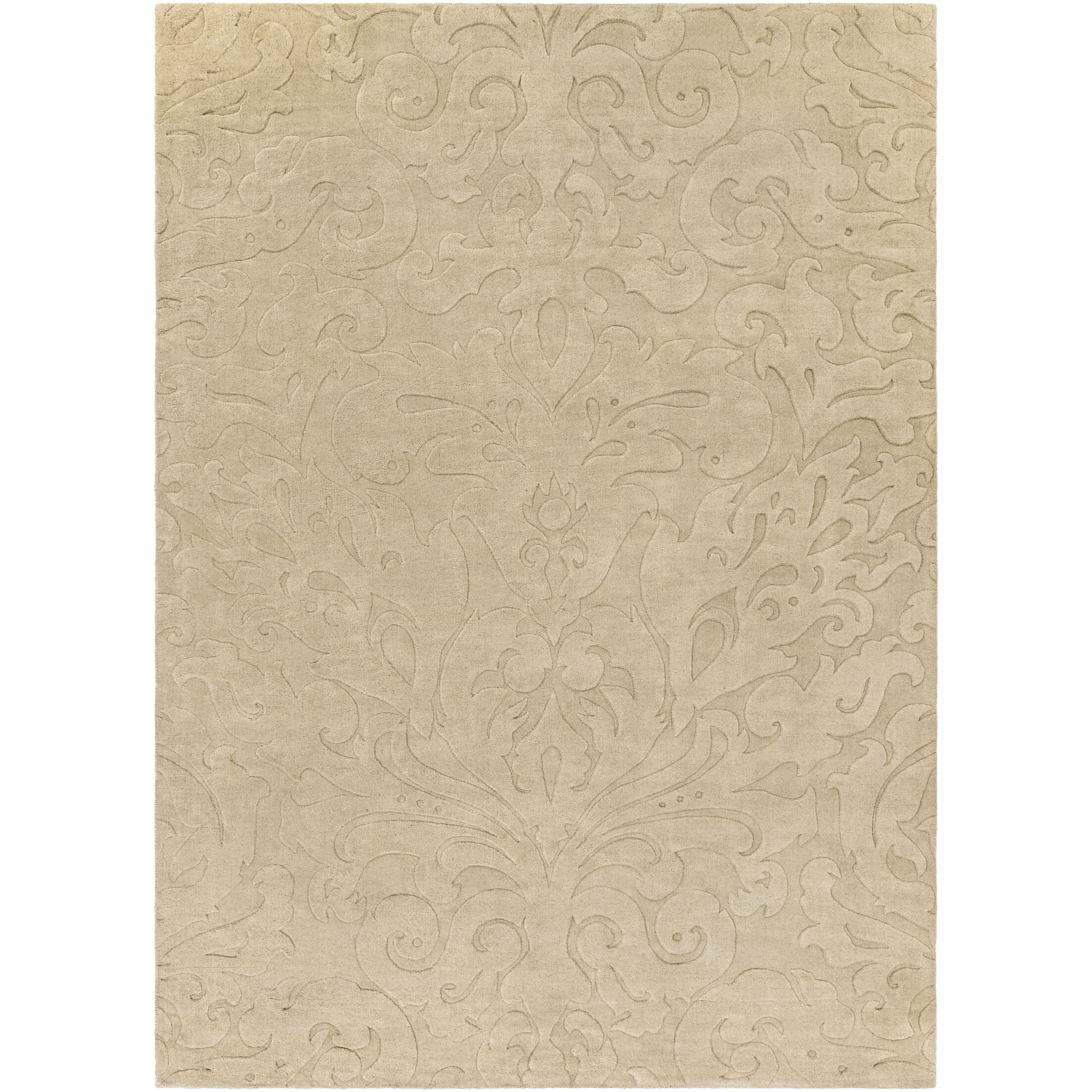 Ella Hand-Woven Natural Area Rug Rug Size: Rectangle 5' x 8'