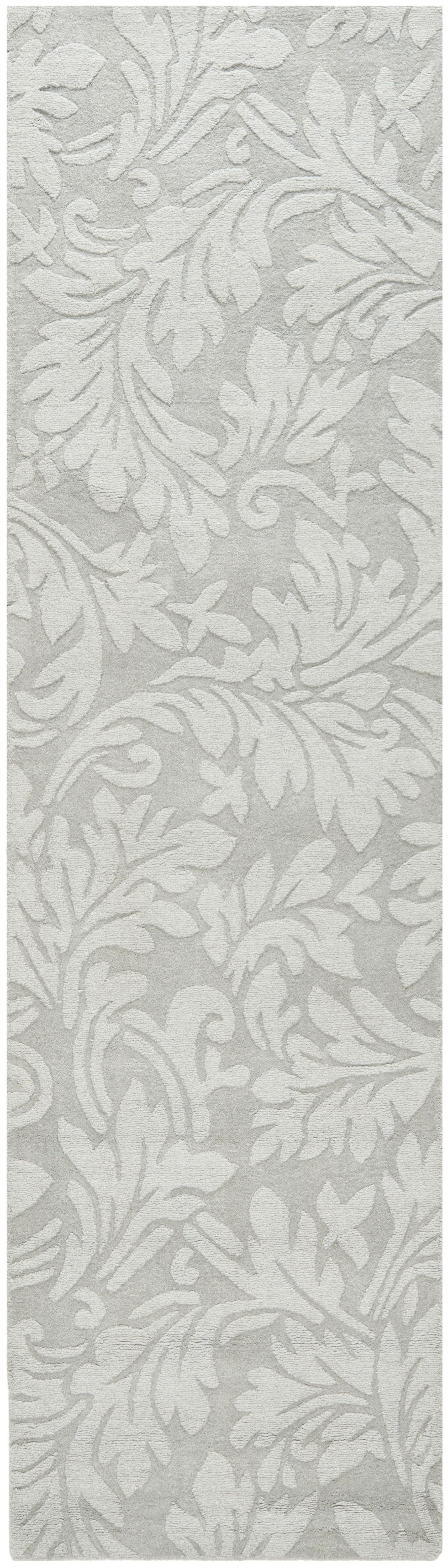 Sarah Modern Grey Area Rug Rug Size: Rectangle 4' x 6'