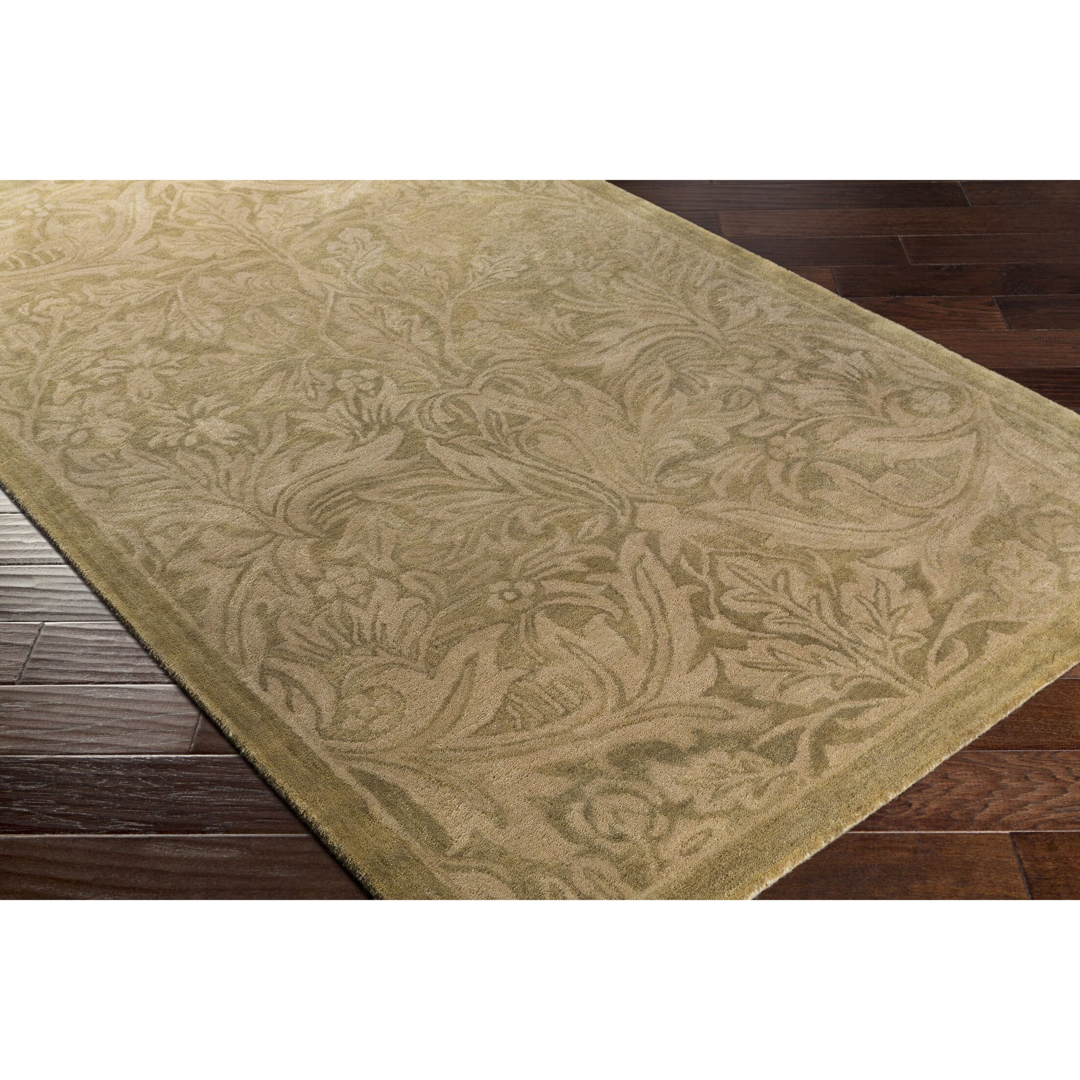 Acton Hand-Tufted Neutral/Brown Area Rug Rug Size: Rectangle 8' x 10'