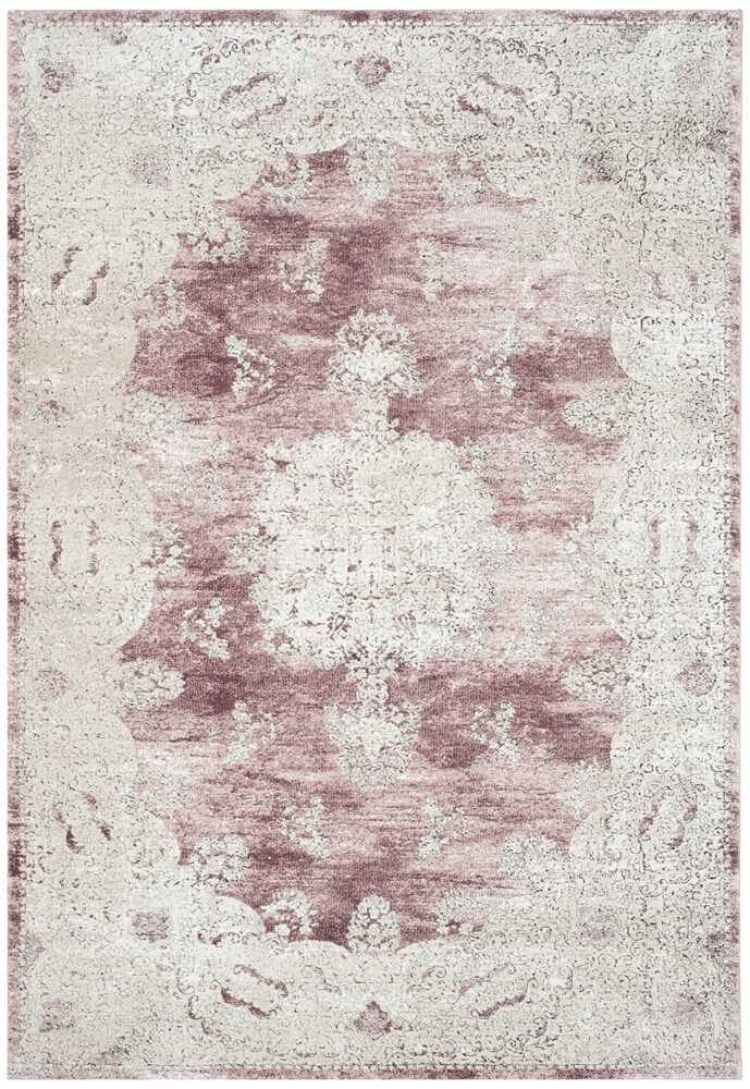 Prager Rose/Beige Area Rug Rug Size: Rectangle 8' x 10'