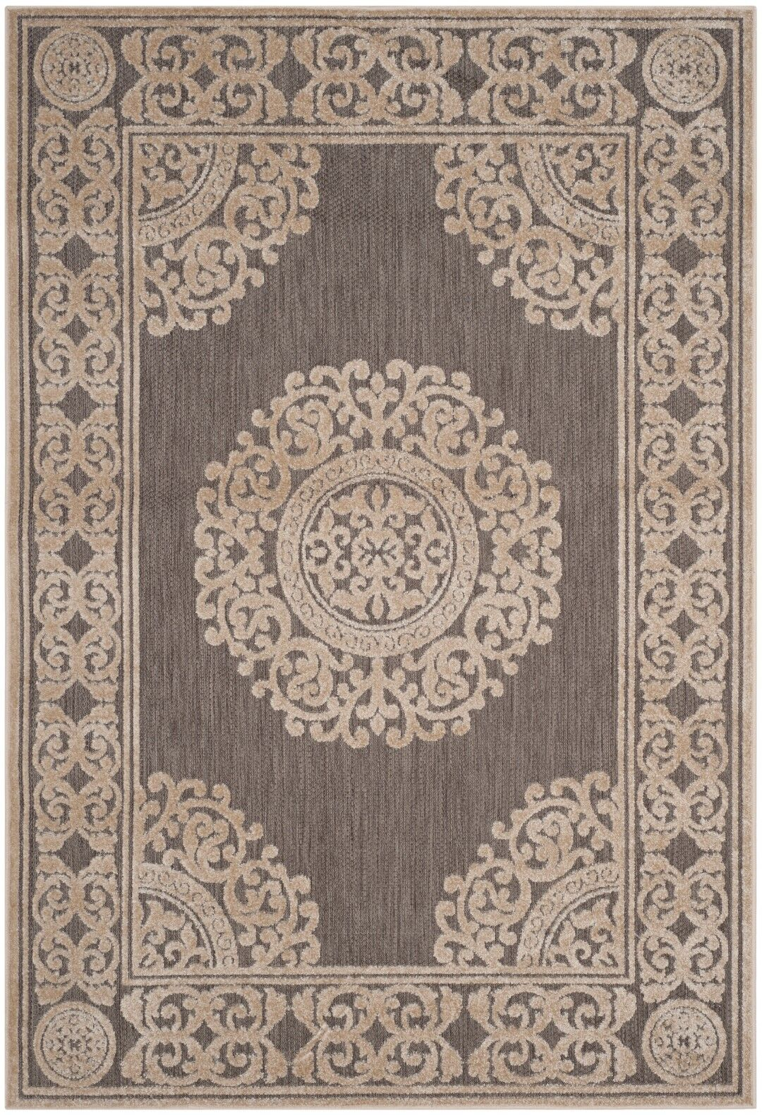 Parsons Taupe Area Rug Rug Size: Rectangle 8' x 11'2