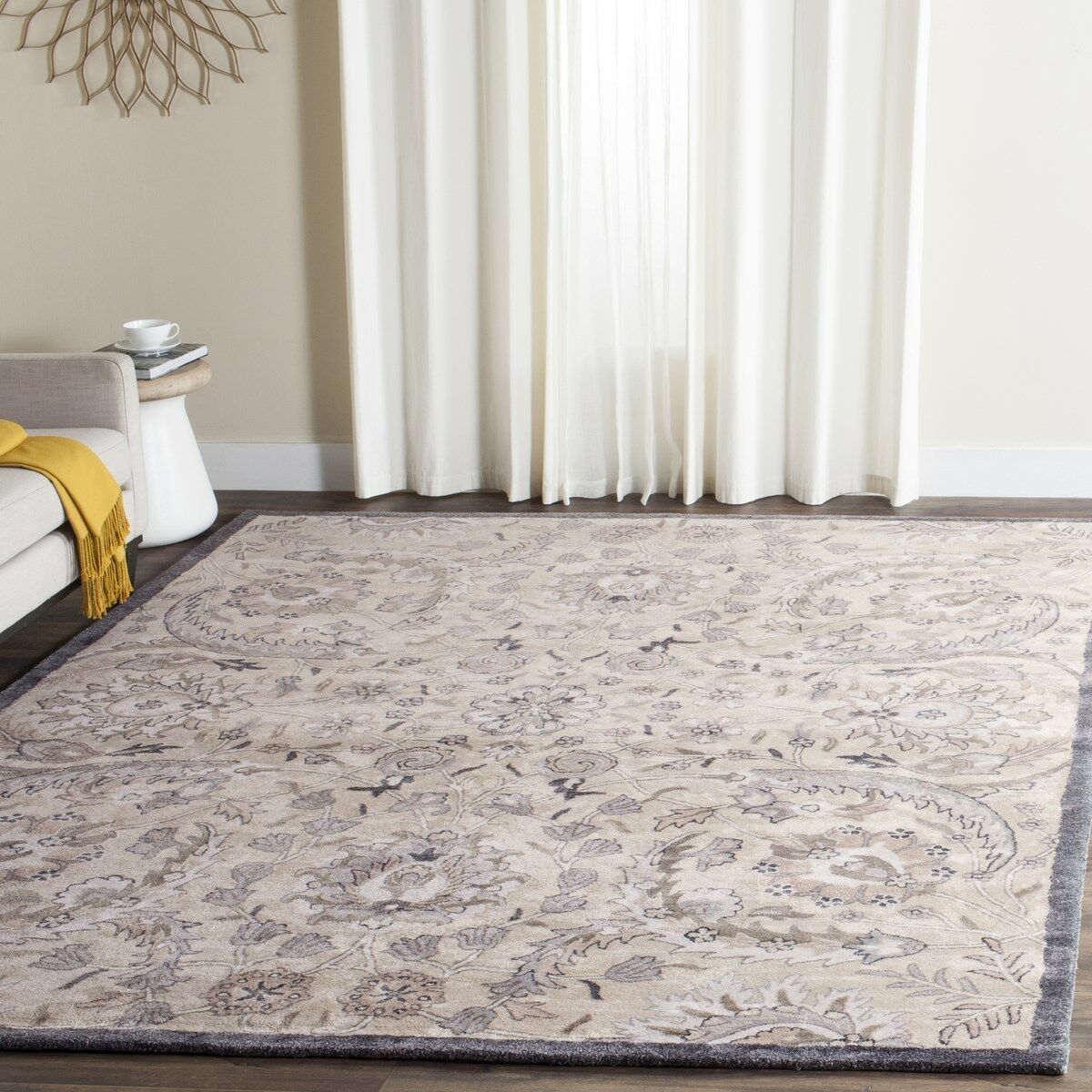 Davila Hand Tufted Area Rug Rug Size: Rectangle 6' x 9'