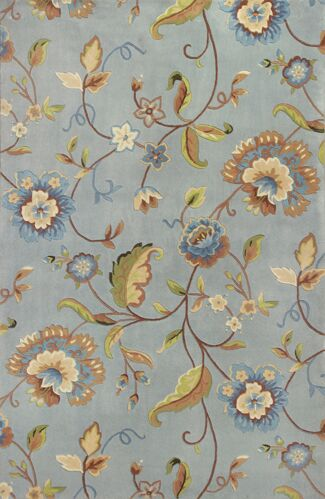 Mapletown Quincy Floral Area Rug Rug Size: Rectangle 3'6