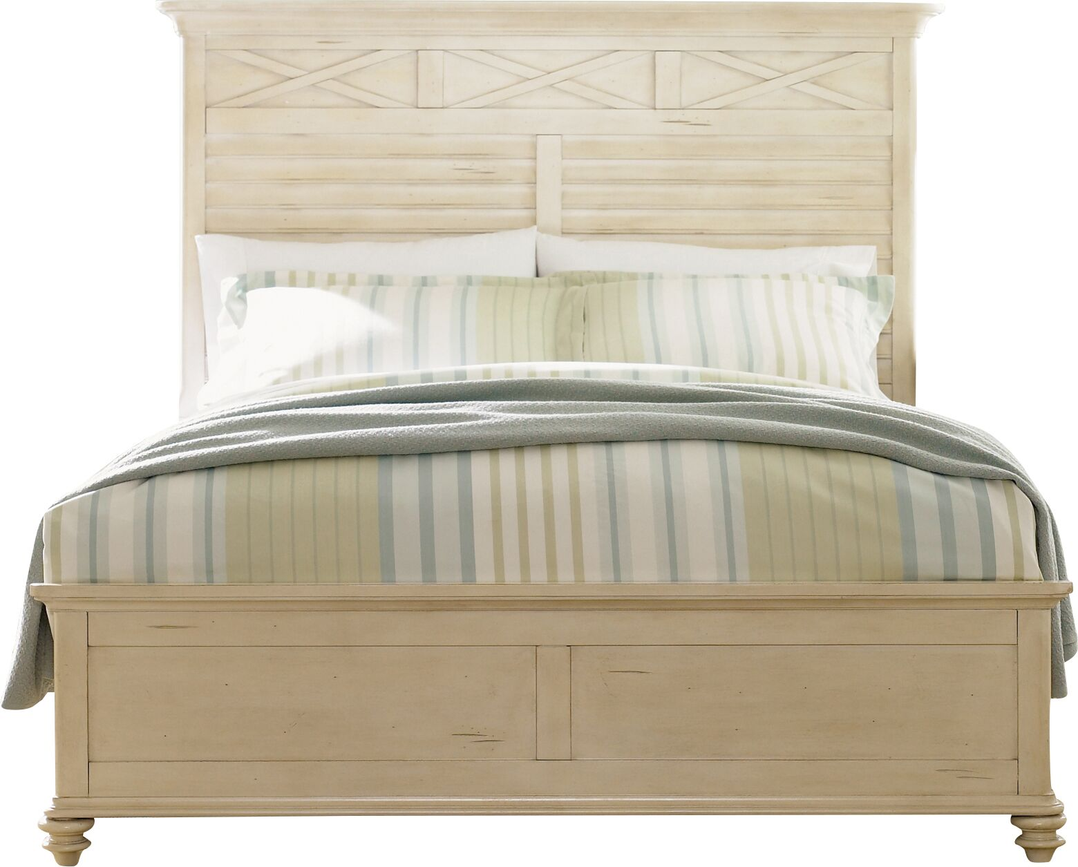 Bridgeview Panel Headboard Size: King