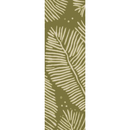 Acosta Hand-Tufted Olive/Ivory Indoor/Outdoor Area Rug Rug Size: Rectangle 8' x 10'