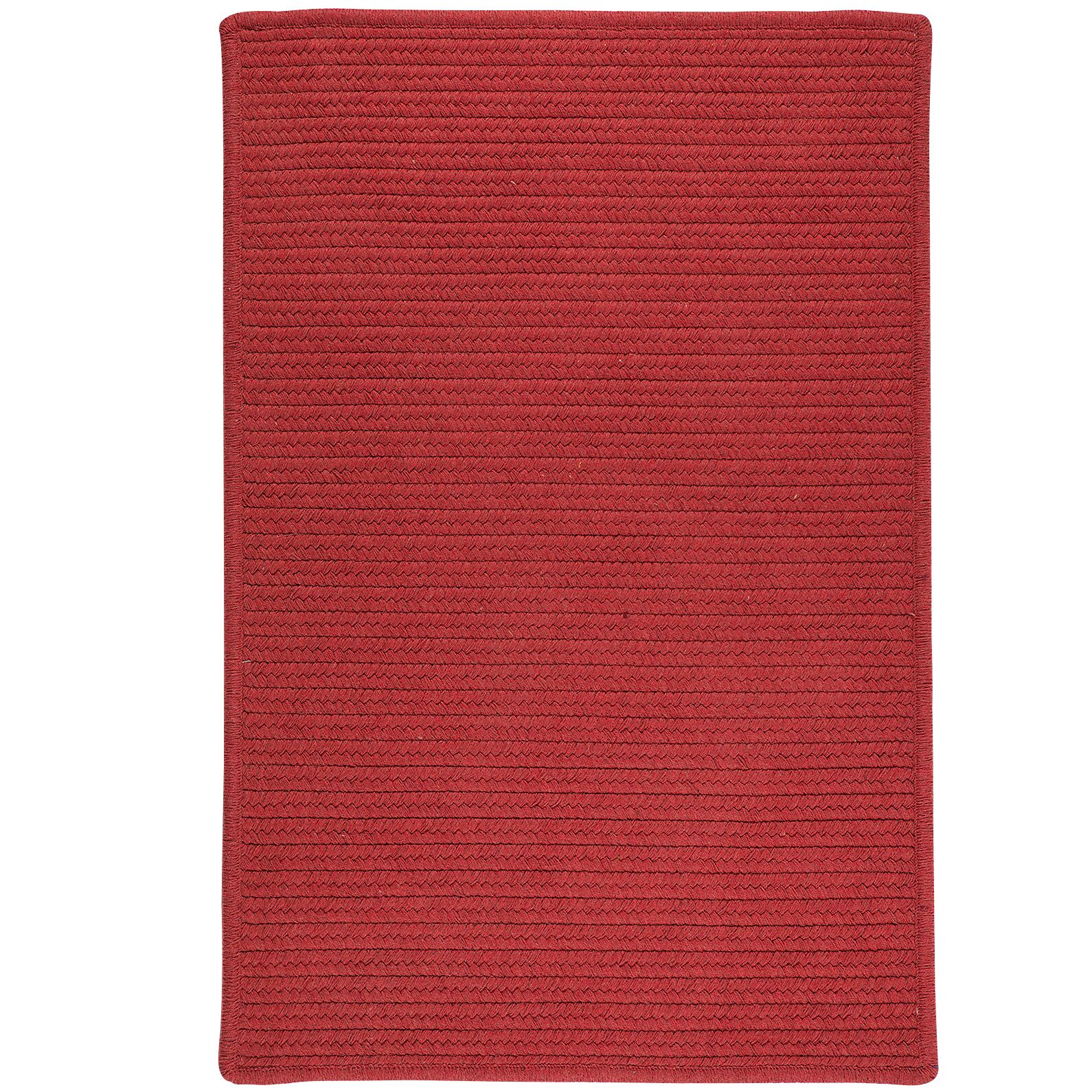 Hopseed Hand-Woven Red Indoor/Outdoor Area Rug Rug Size: 5' x 7'