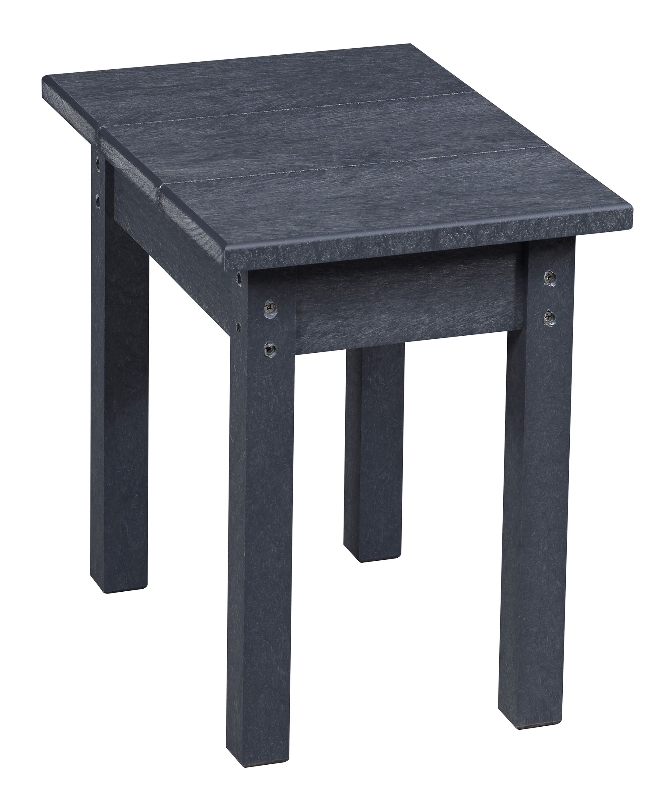 Zander Side Table Color: Graystone