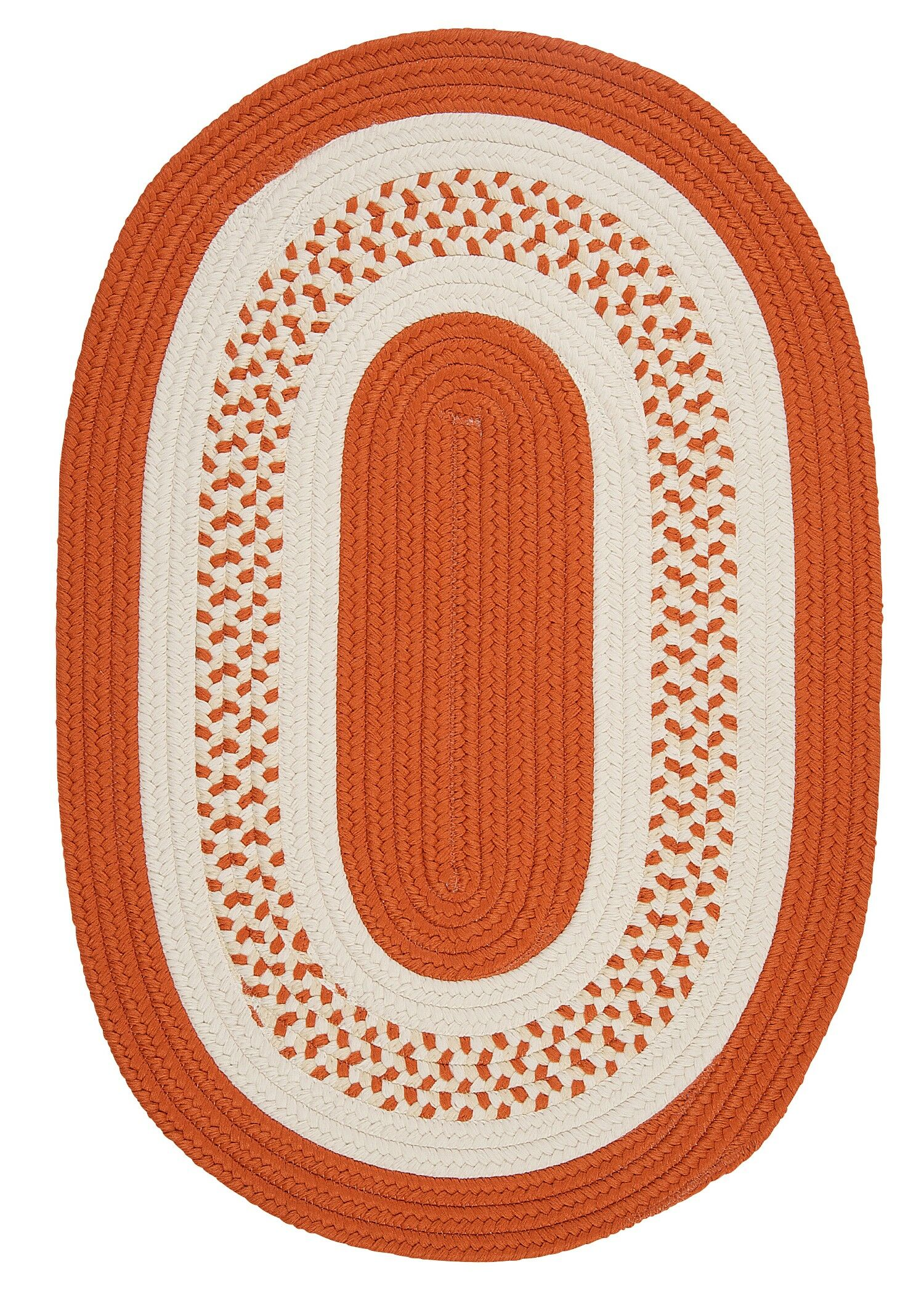 Rockport Orange Indoor/Outdoor Rug Rug Size: Oval Runner 2' x 10'