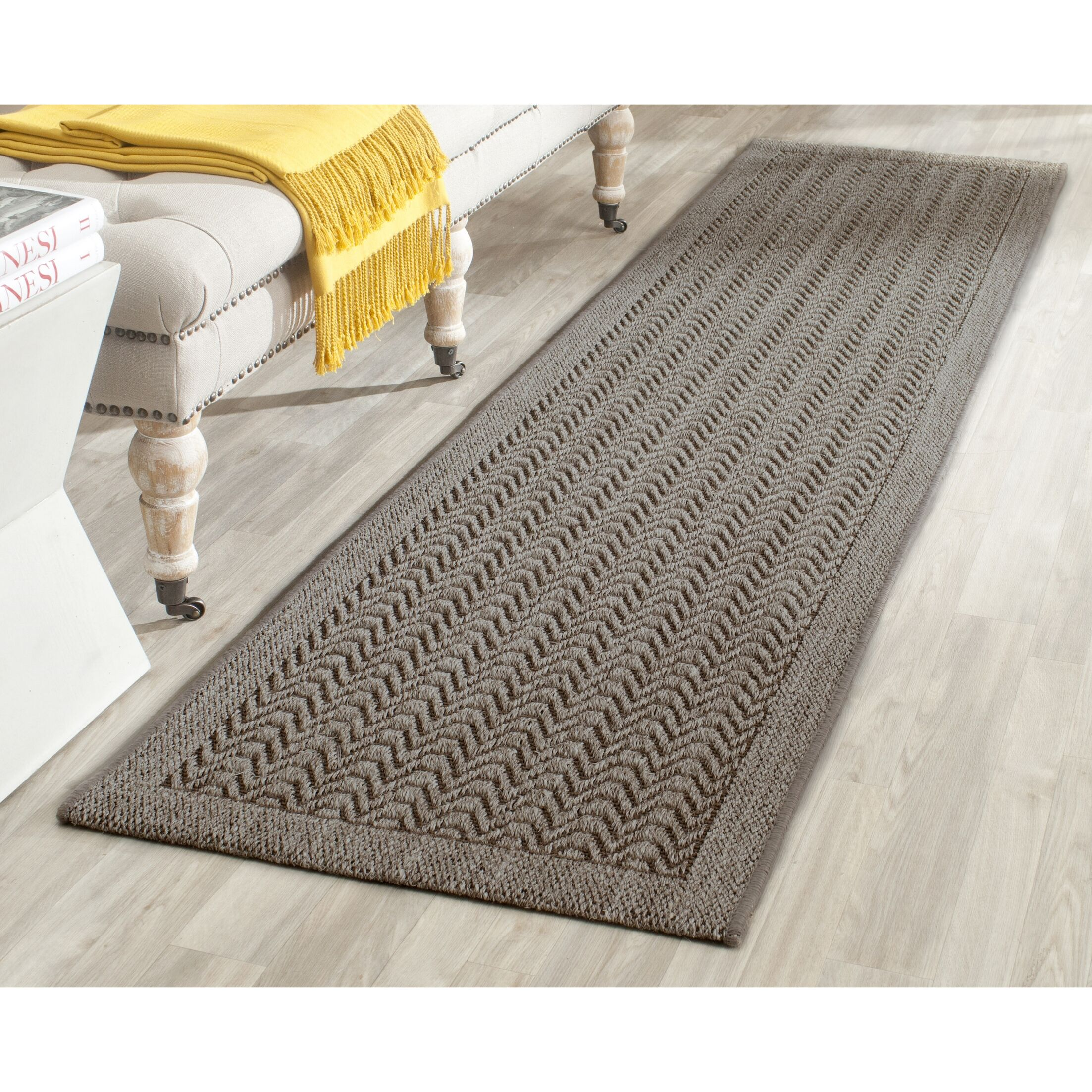 Rodanthe Silver Area Rug Rug Size: Rectangle 6' x 9'