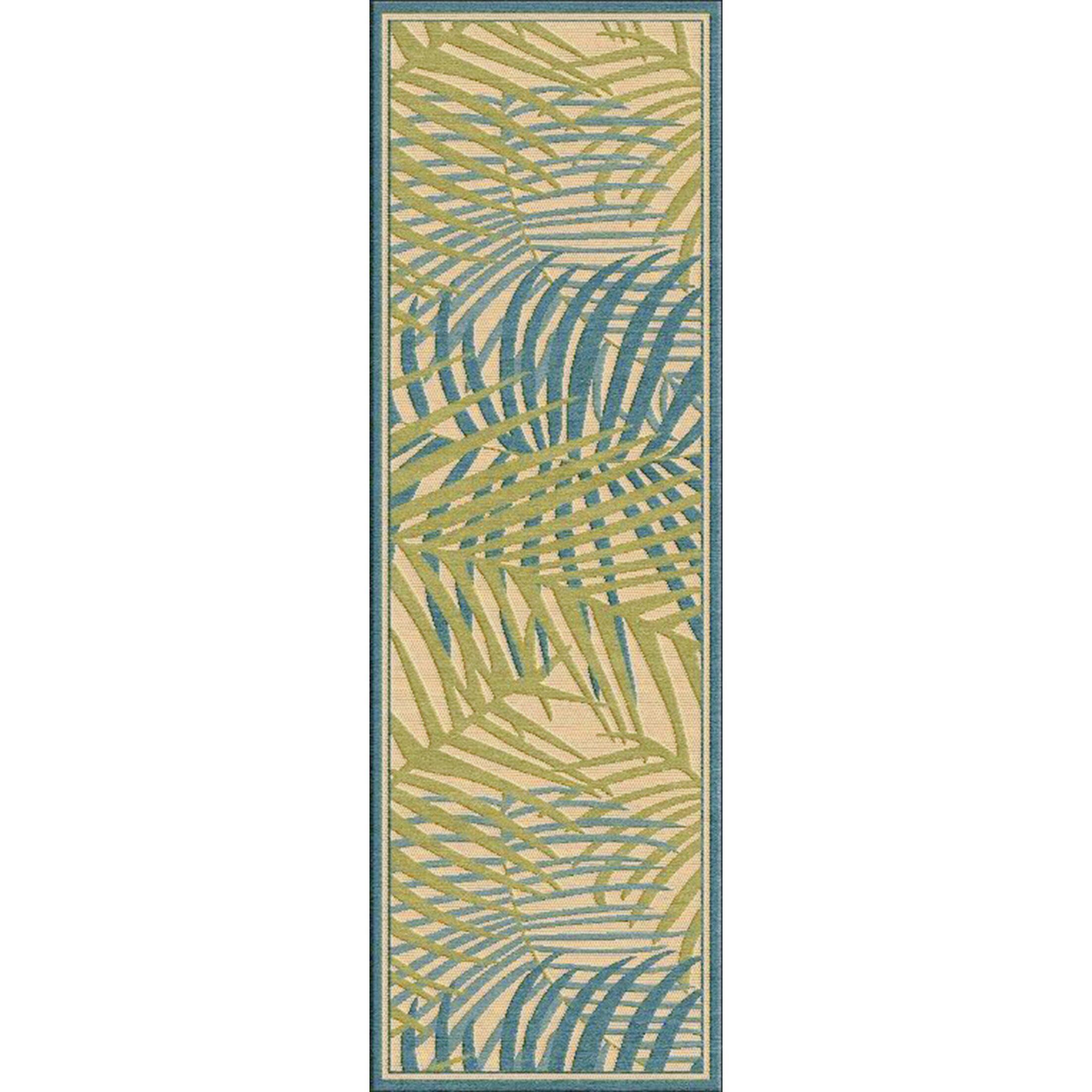 Caravel Khaki Indoor/Outdoor Area Rug Rug Size: Rectangle 8'8