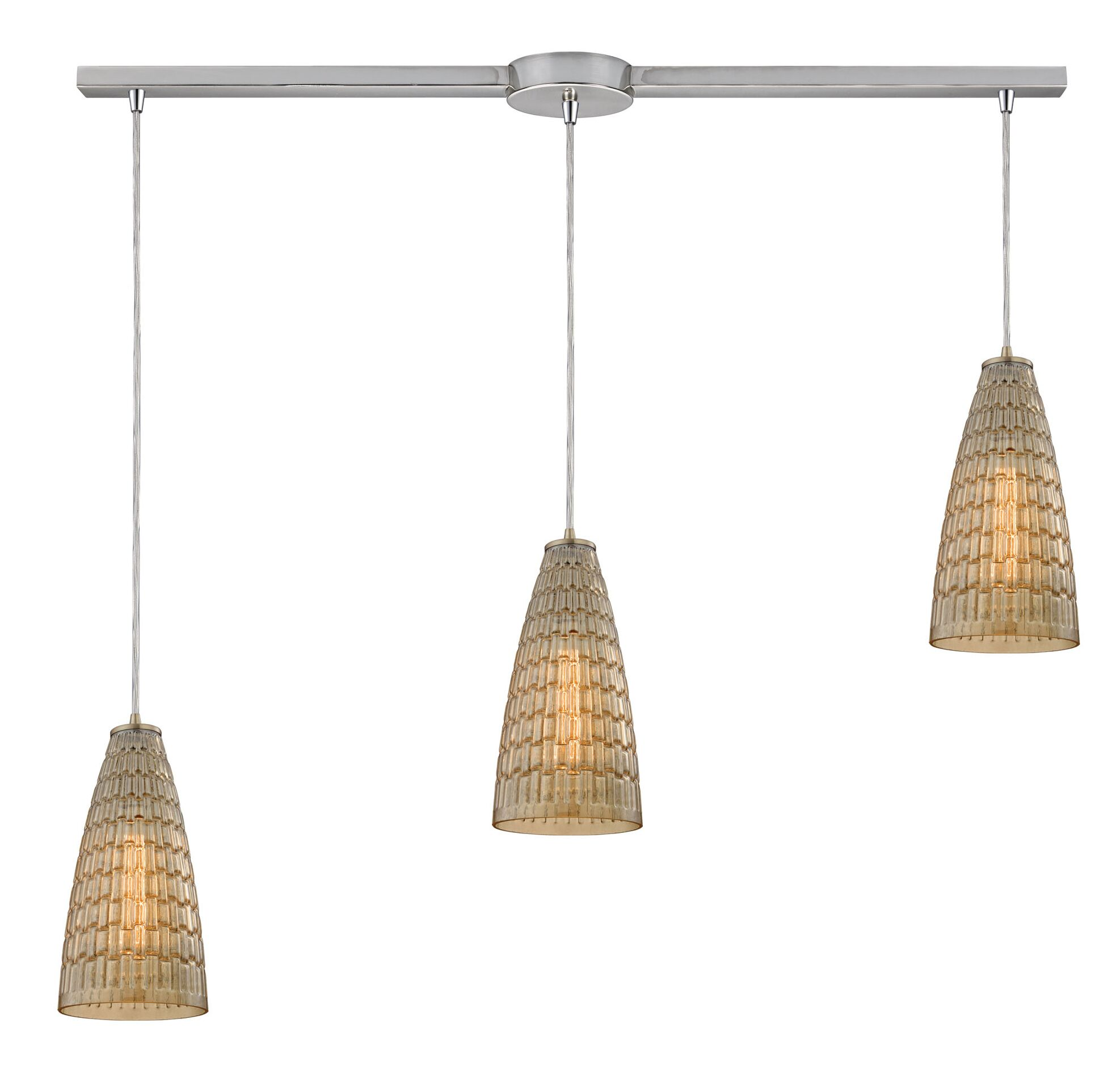 Saba 3-Light Cluster Pendant
