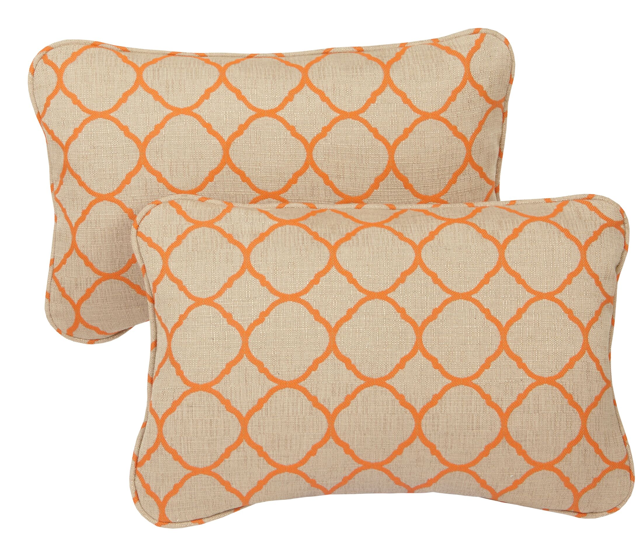 Topps Outdoor Sunbrella Lumbar Pillow Size: 13