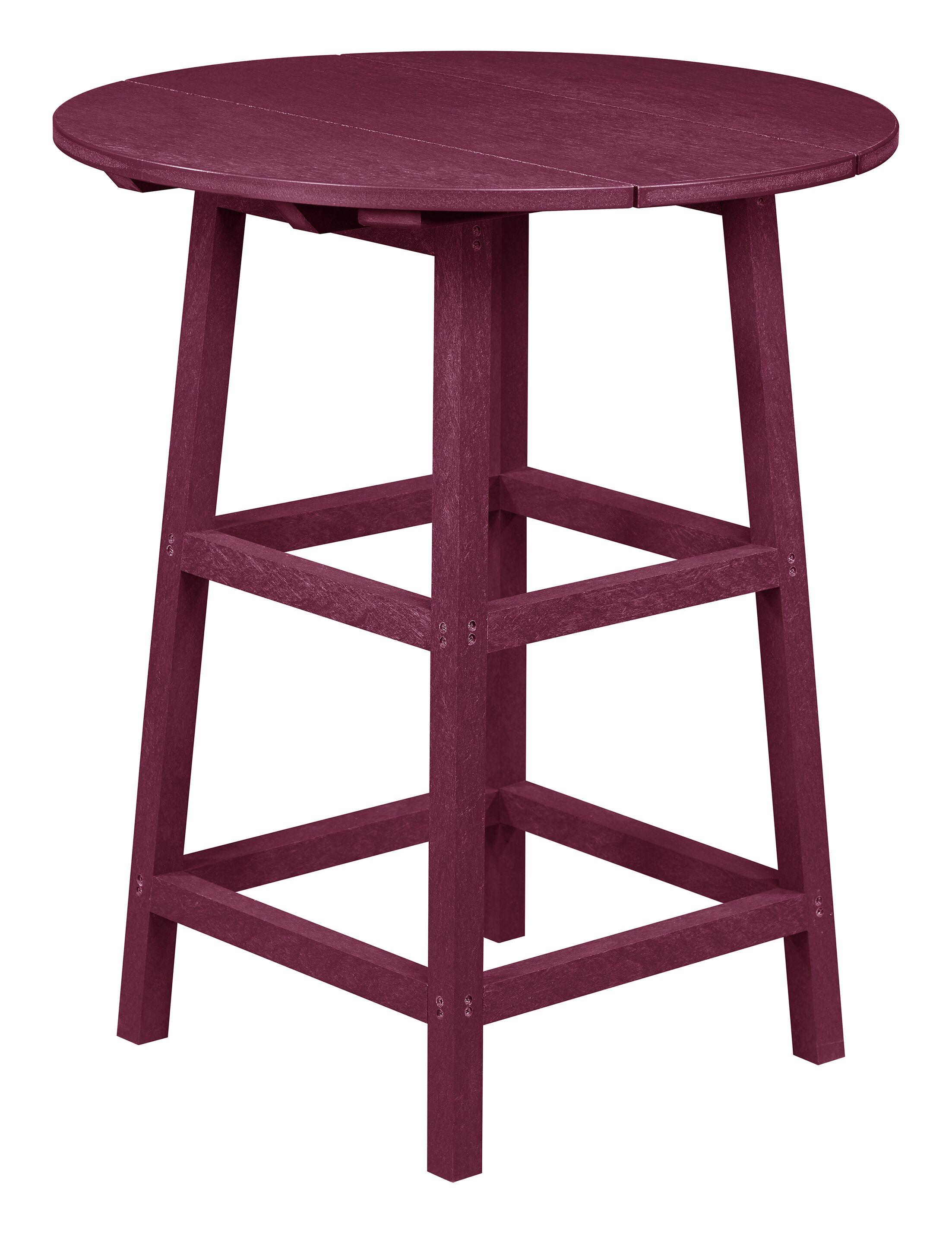 Kratochvil Plastic Bistro Table Table Size: 41
