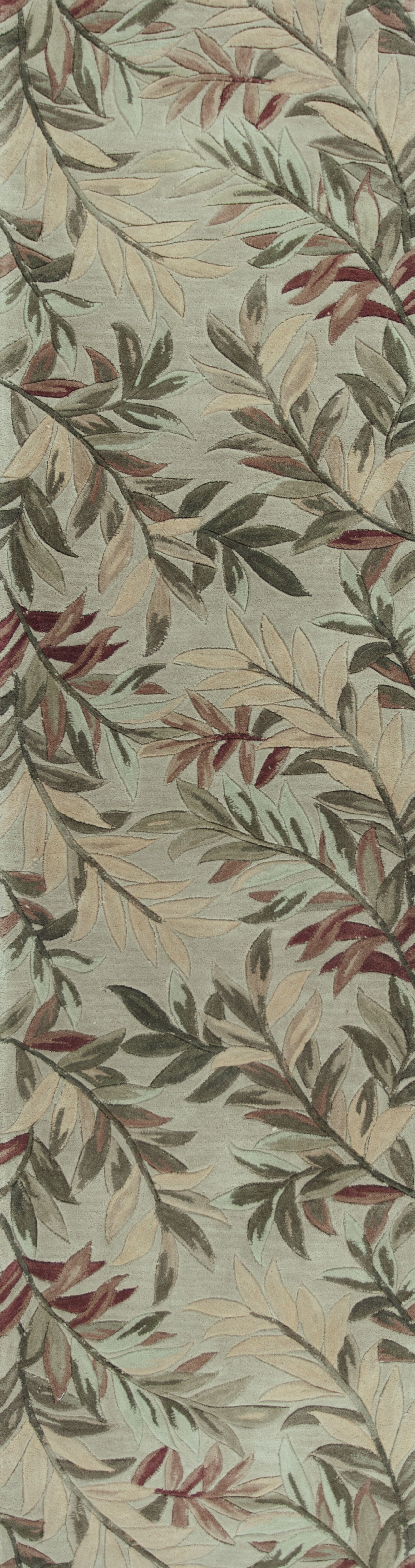 Murray Sage Tropical Branches Area Rug Rug Size: Rectangle 7'9