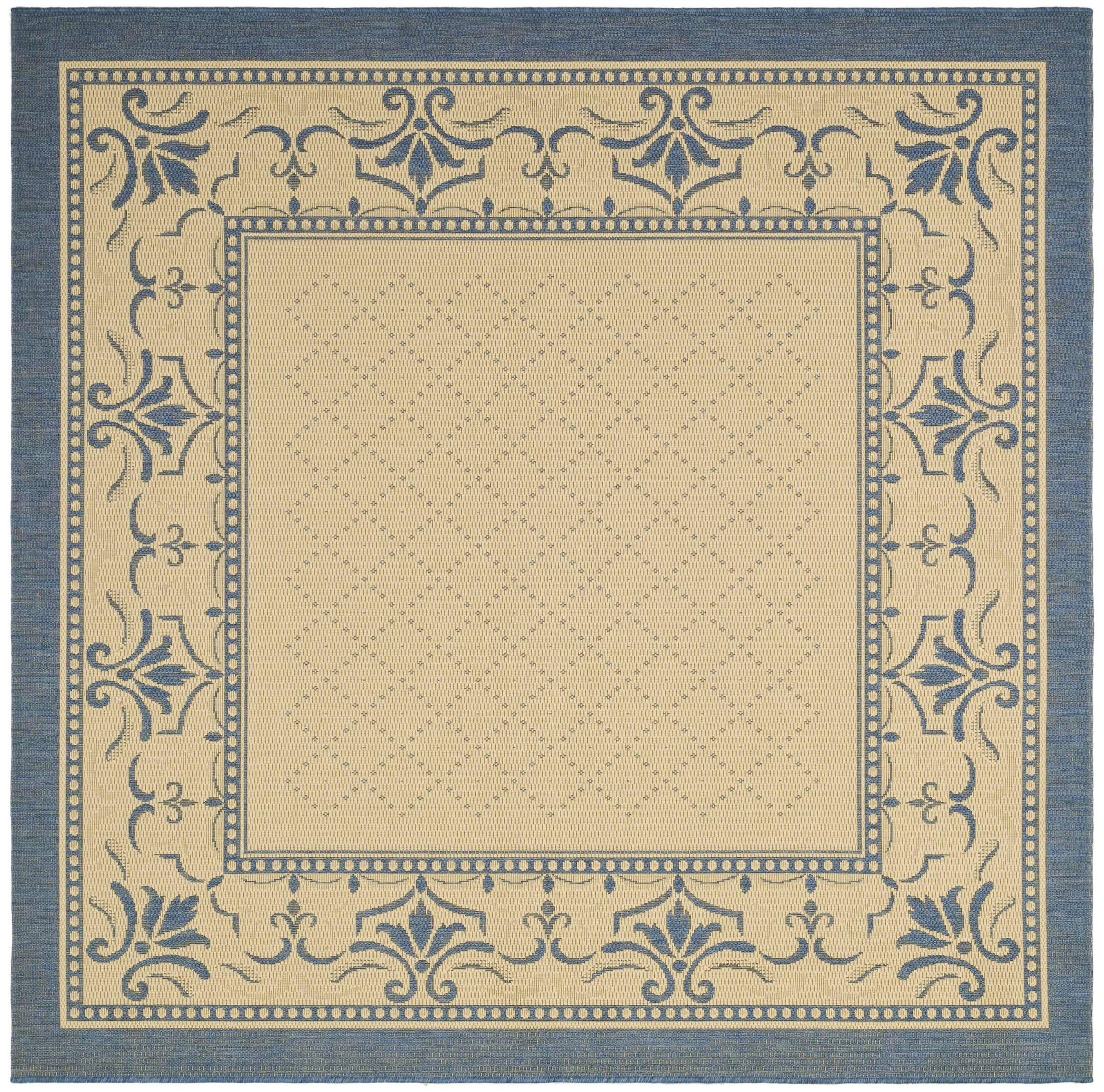 Amaryllis Ivory Area Rug Rug Size: Square 7'10