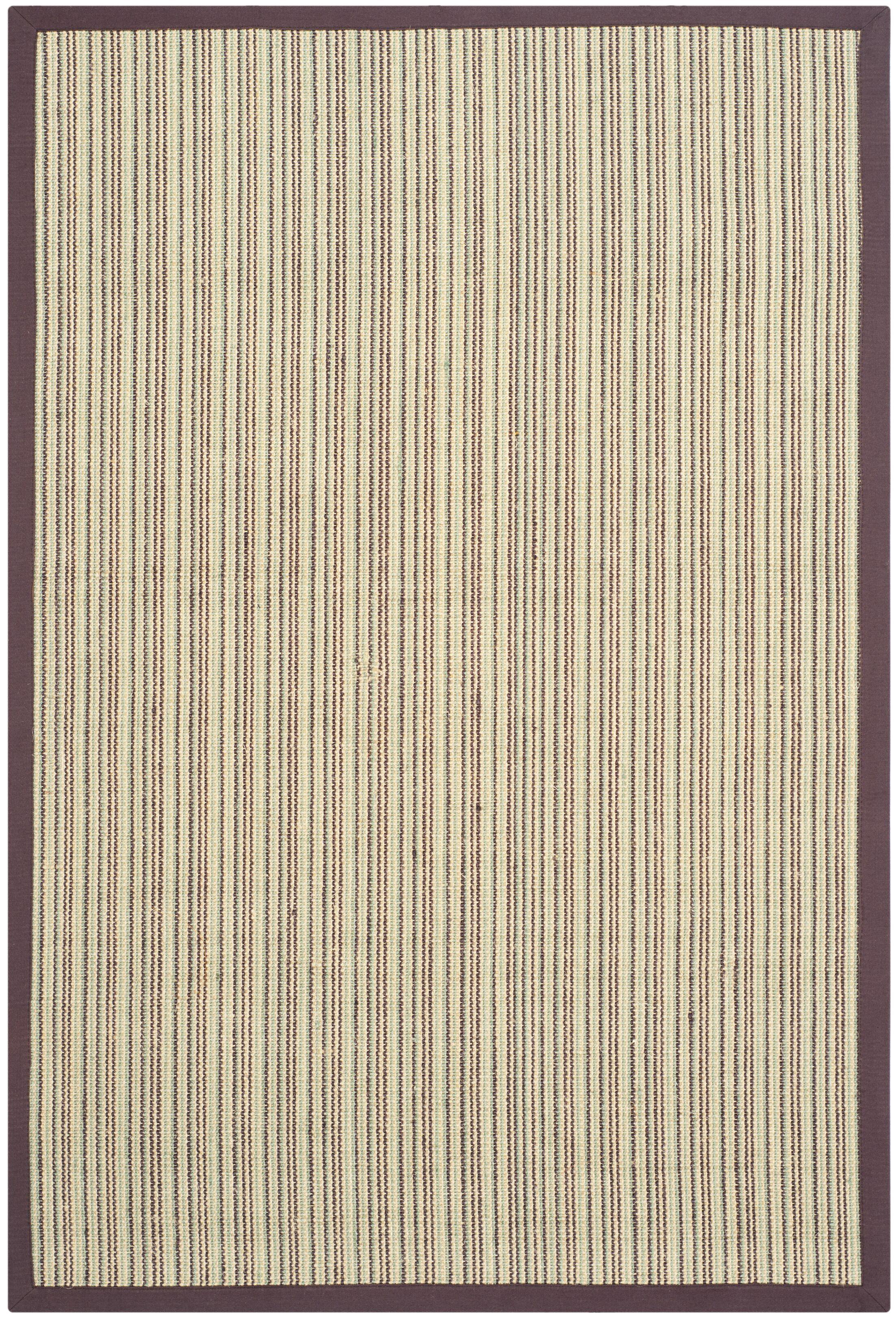 Greene Hand-Woven Blue/Purple Rug Rug Size: Rectangle 9' x 12'