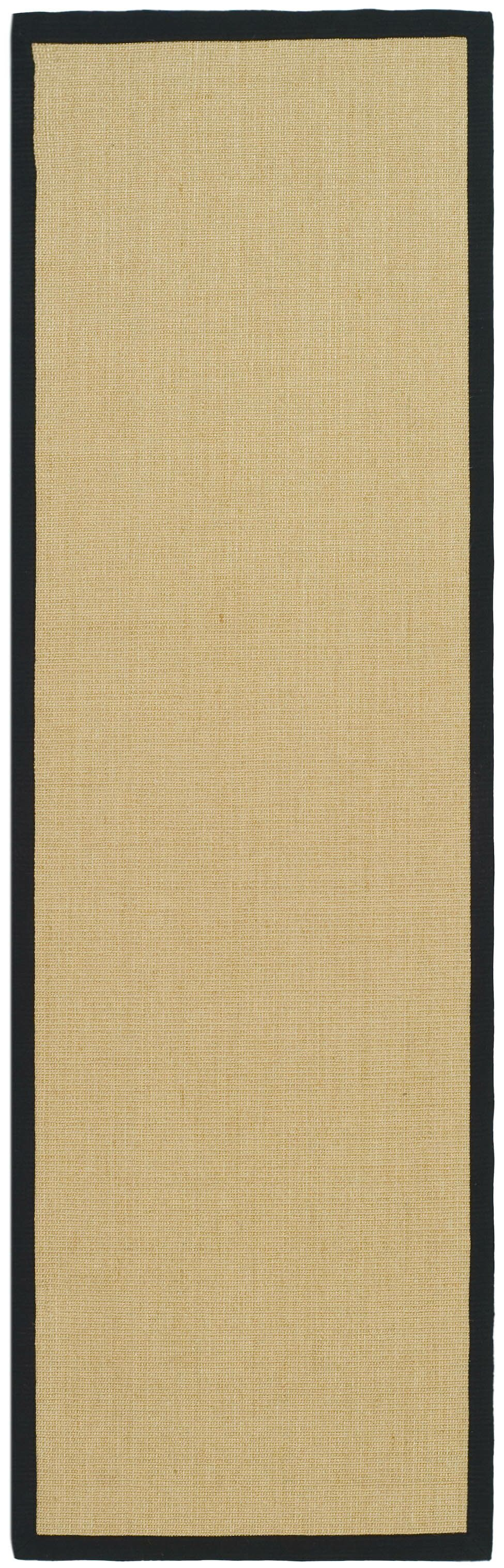 Greene Contemporary Sisal Brown Area Rug Rug Size: Runner 2'6