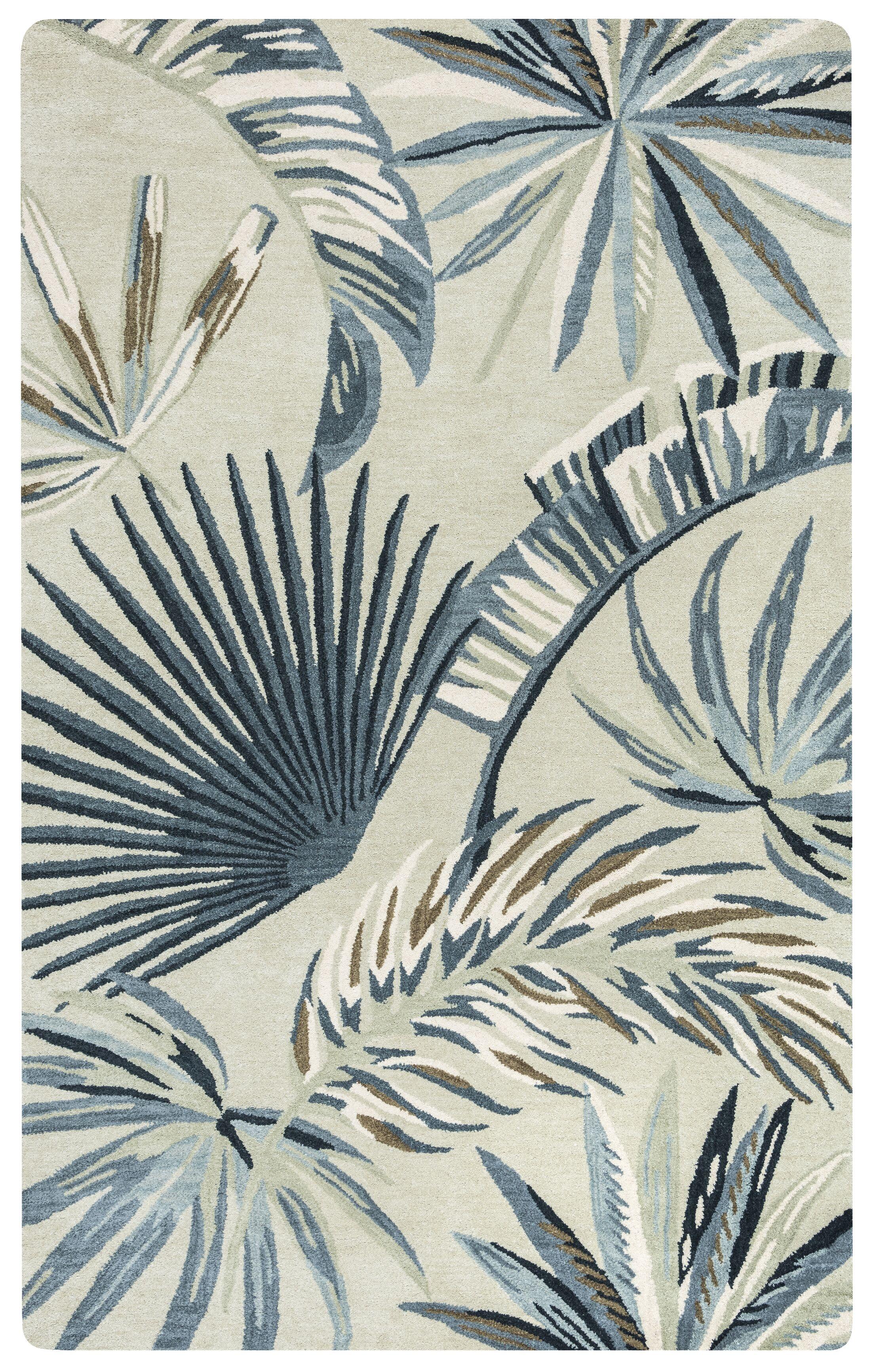 Minnie Hand-Tufted Khaki Area Rug Rug Size: Rectangle 5' x 8'