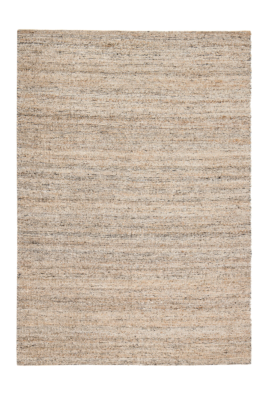 Ardenwood Hand-Woven Gray/Ivory Area Rug Rug Size: 8' x 10'
