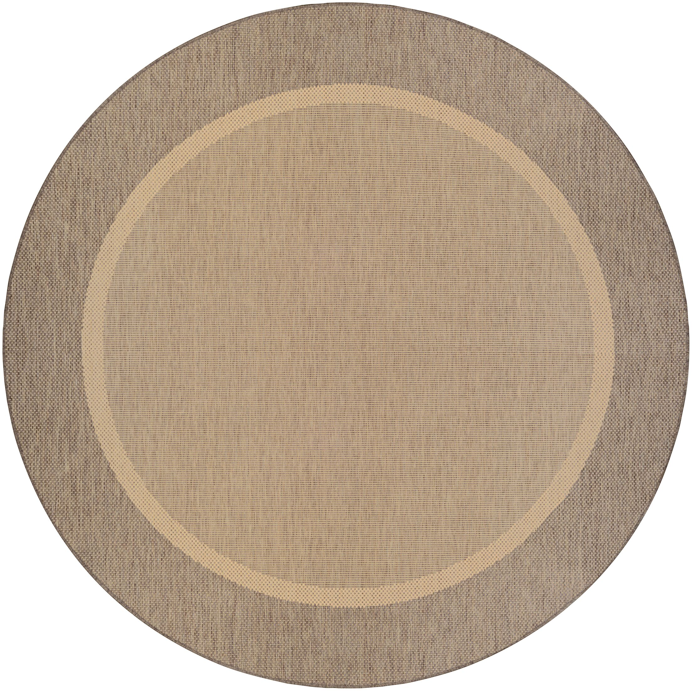 Linden Texture Beige/Brown Indoor/Outdoor Area Rug Rug Size: Rectangle 2' x 3'7