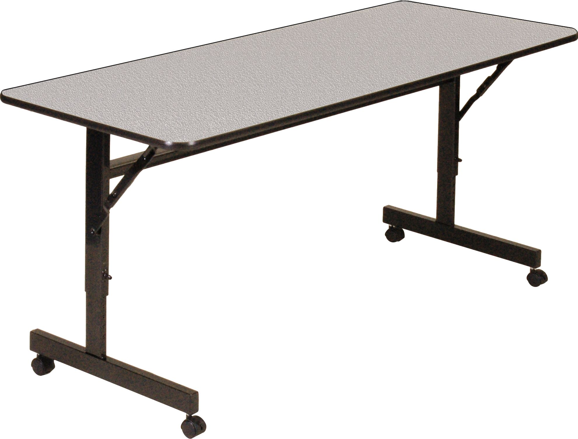 Borchert Training Table with Wheels Width: 48