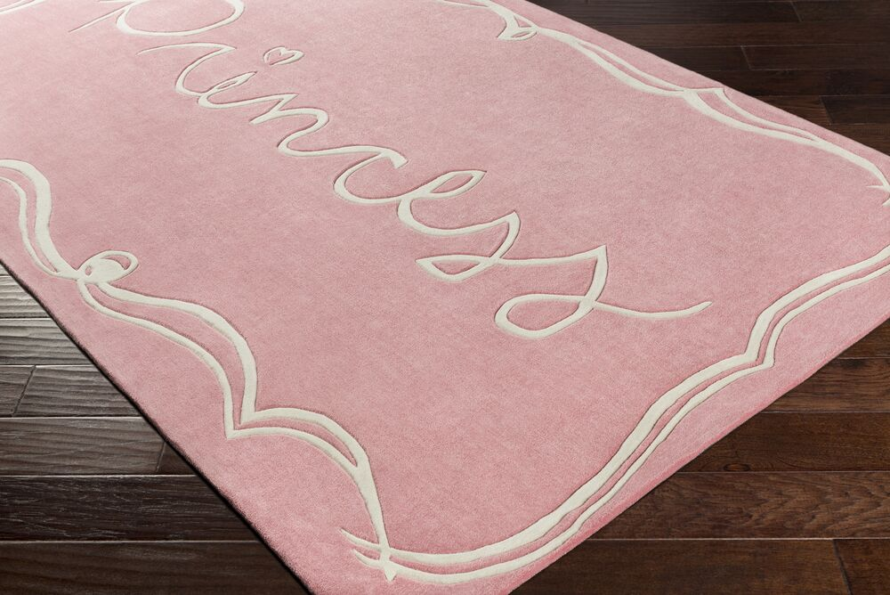 Cesar Hand-Tufted Pink/Neutral Area Rug Rug Size: 3' x 5'