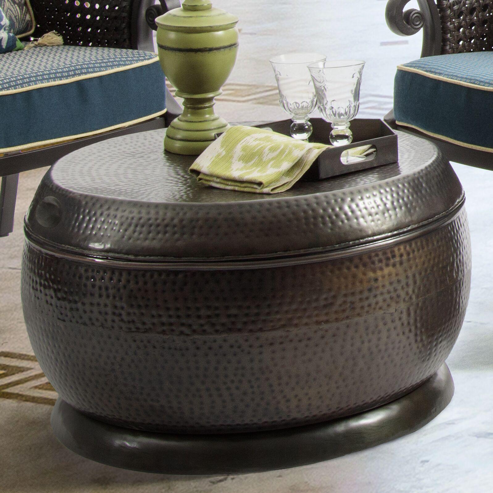 Madras Coffee Table Color: Bronze