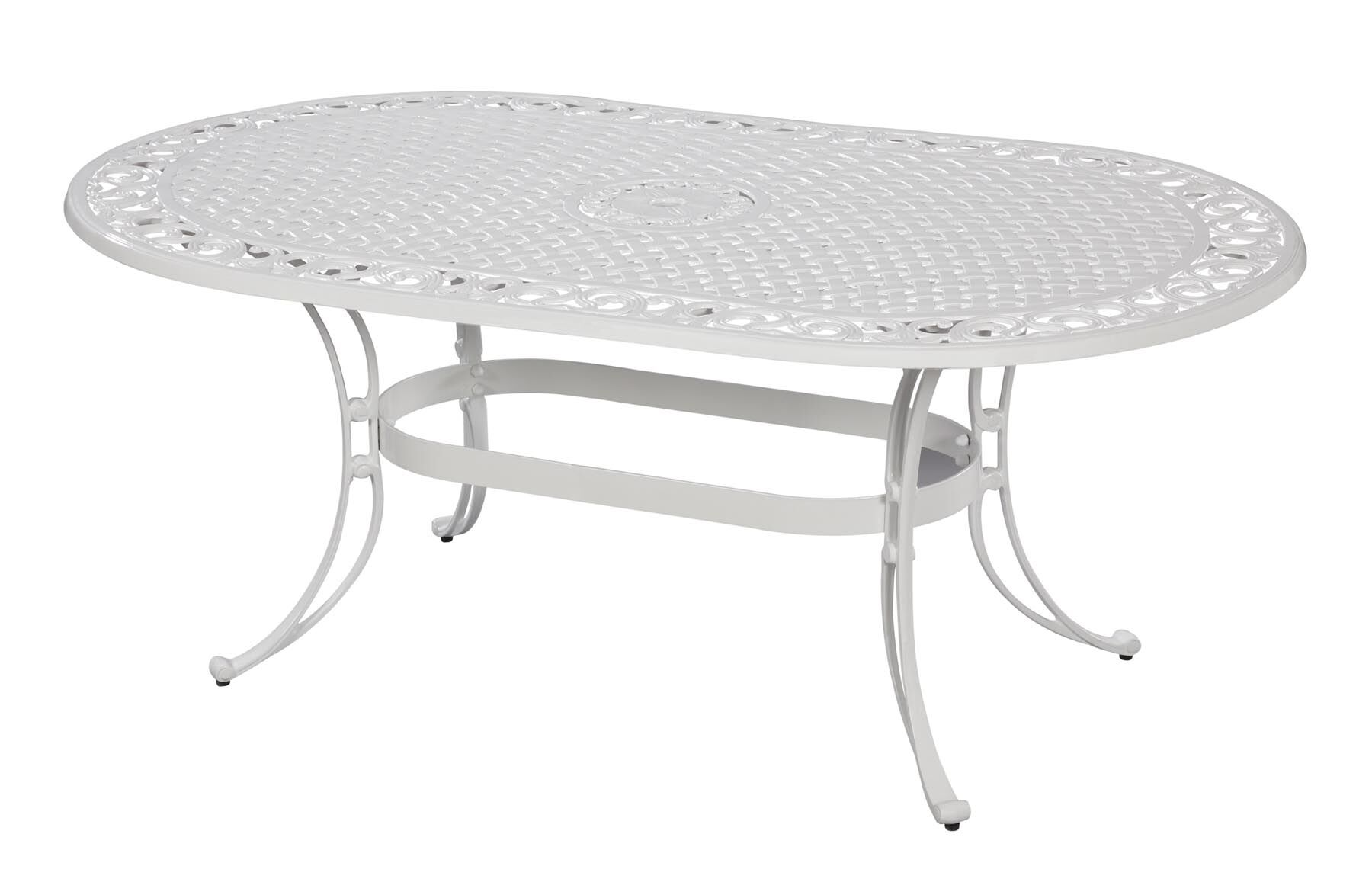 Van Glider Oval Dining Table