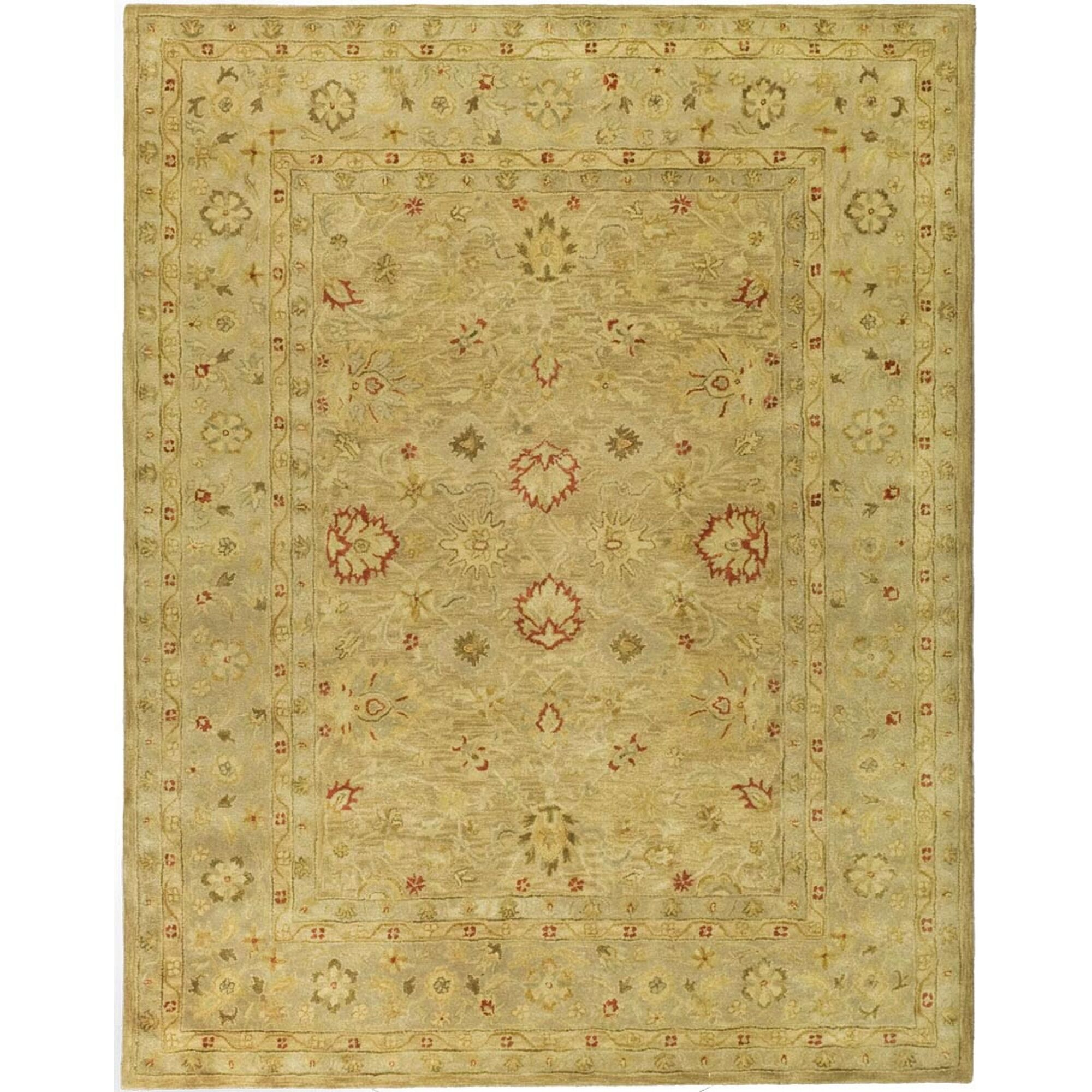Rayna Brown/Beige Area Rug Rug Size: Rectangle 12' x 18'