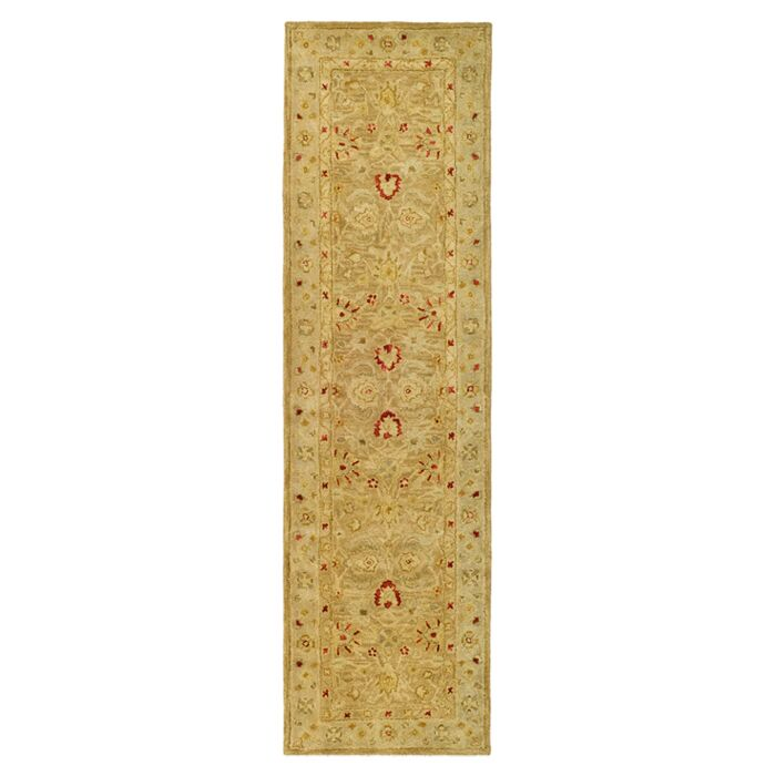 Rayna Brown/Beige Area Rug Rug Size: Runner 2'3