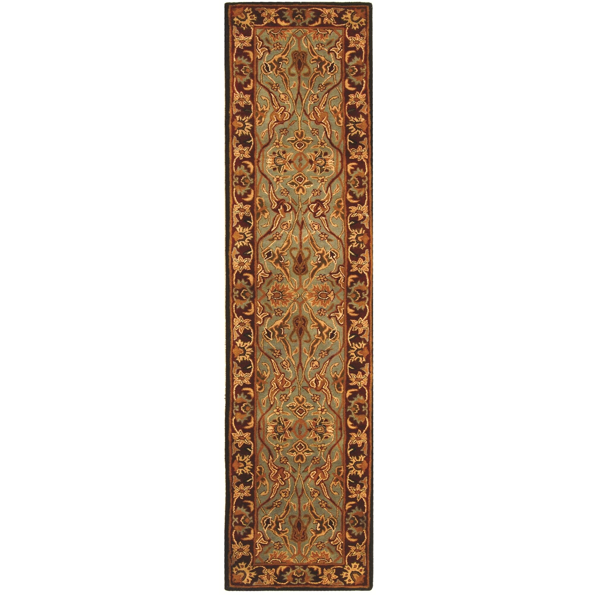 Balthrop Hand-Tufted Wool Red Area Rug Rug Size: Runner 2'3