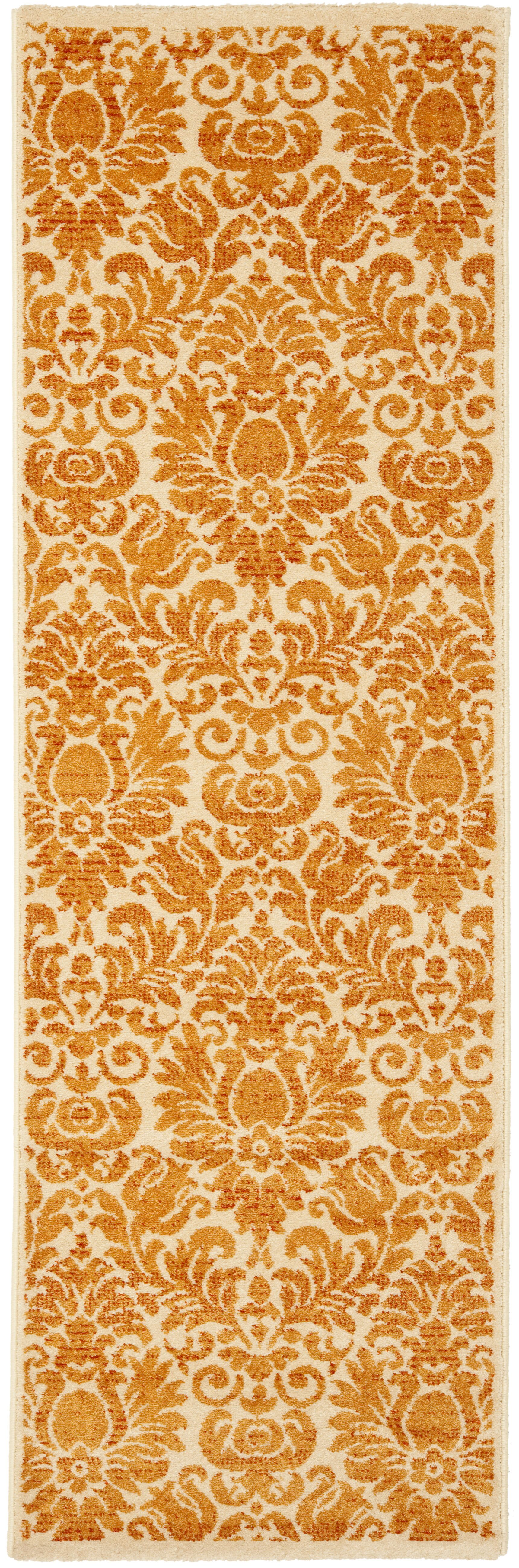 Cargin Red Indoor/Outdoor Area Rug Rug Size: Runner 2'4
