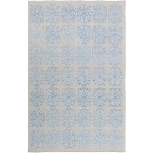 Barren Blue Area Rug Rug Size: Rectangle 6' x 9'