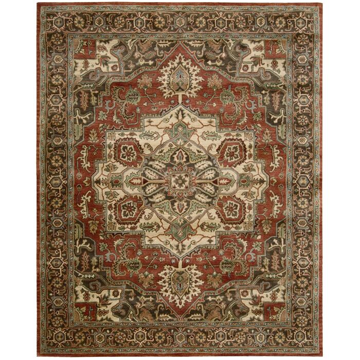 Bassham Area Rug Rug Size: Rectangle 8'3
