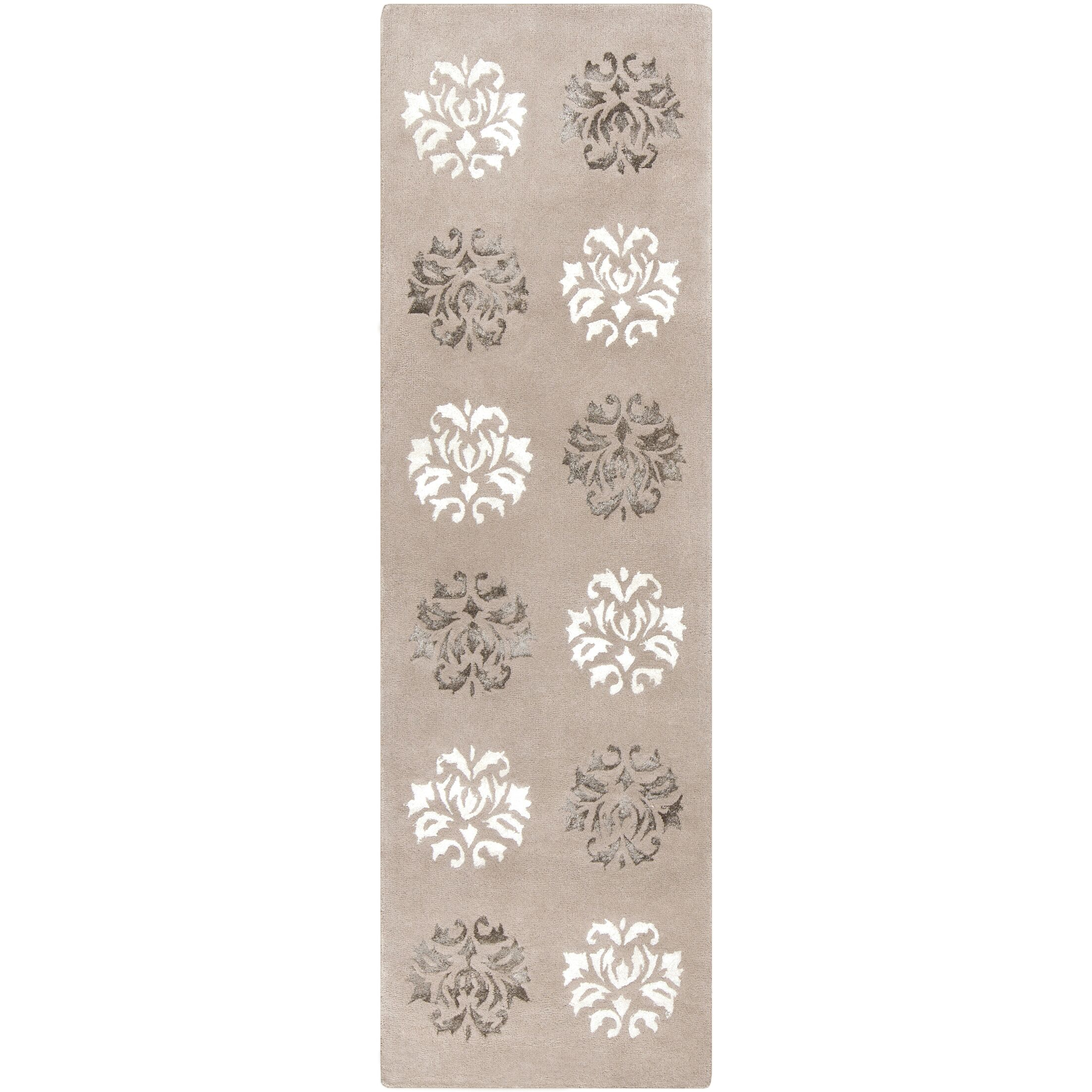 Mackenzie Hand-Woven Natural Area Rug Rug Size: Runner 2'6
