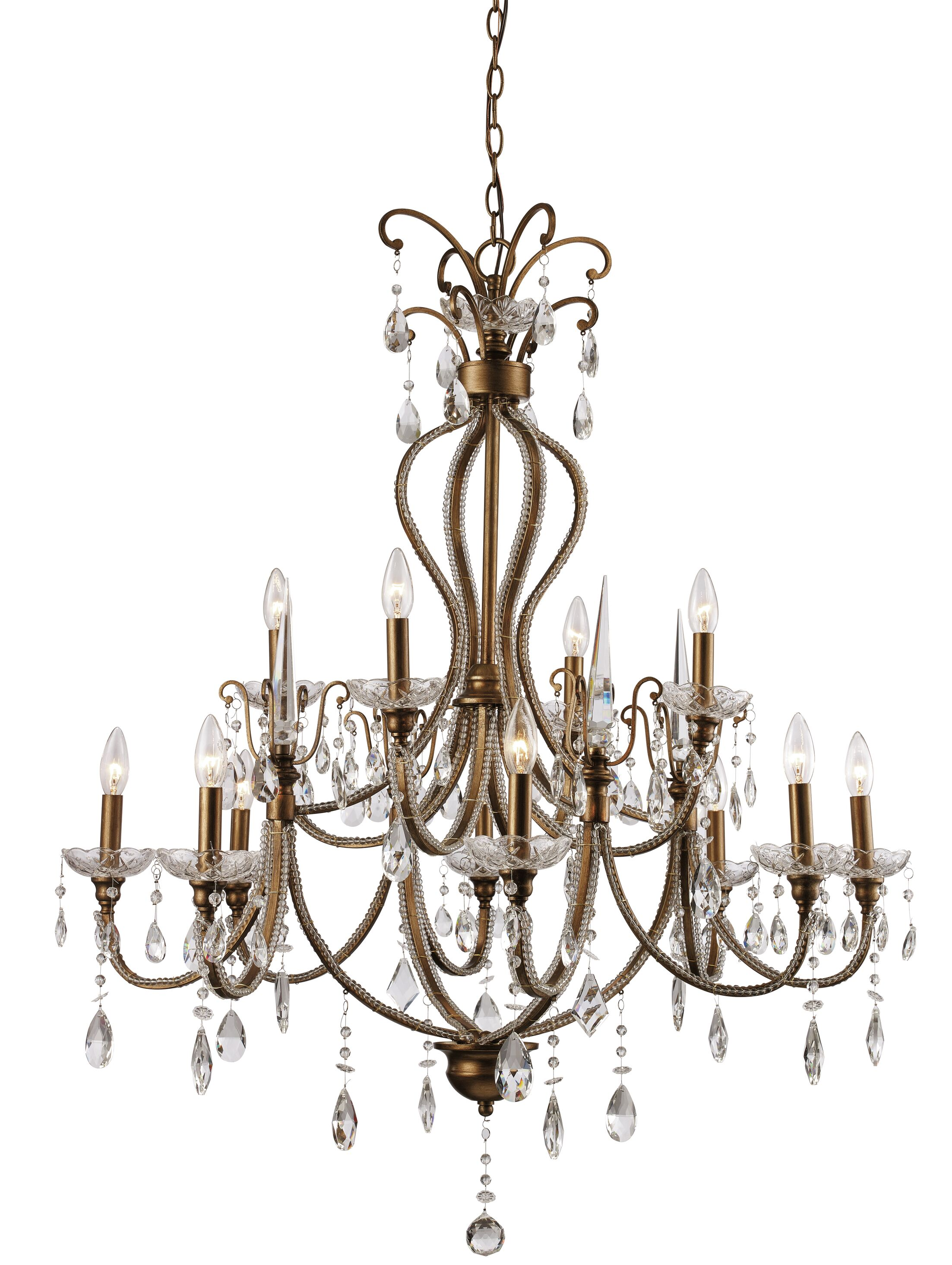 Blandford 12-Light Candle Style Chandelier