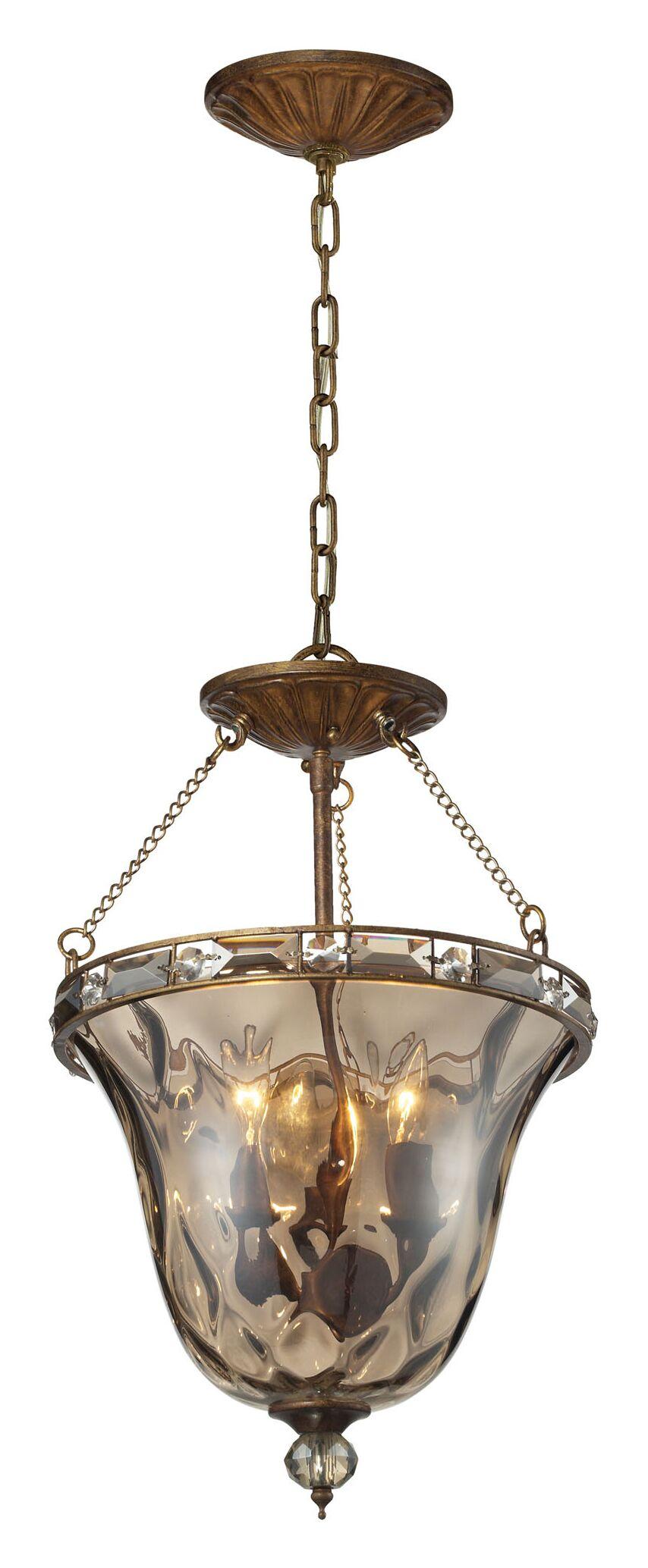 Eastlake 3-Light Urn Pendant