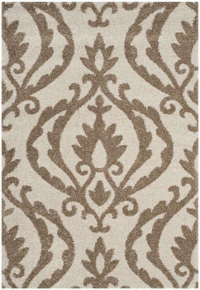 Blaris Cream/Beige Area Rug Rug Size: Rectangle 5'3