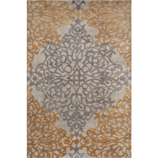 Covell Bronze Rug Rug Size: Rectangle 10' x 14'