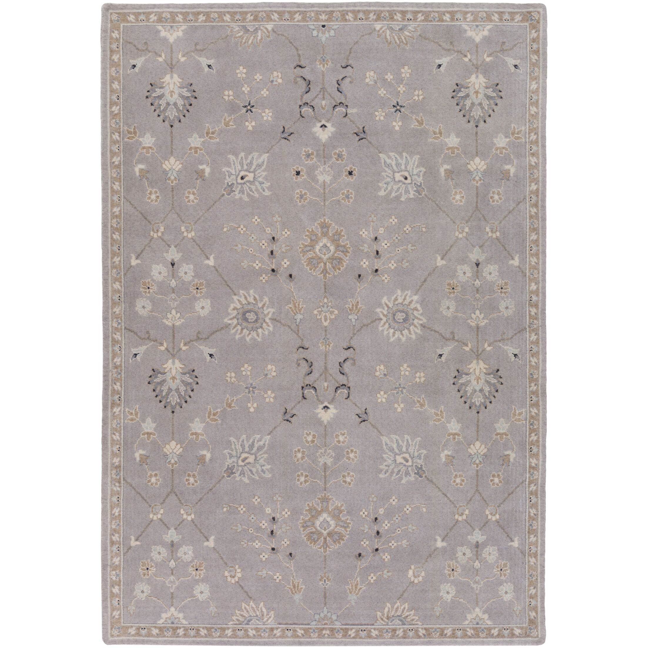 Bloomingdale Gray Area Rug Rug Size: Rectangle 2' x 2'9