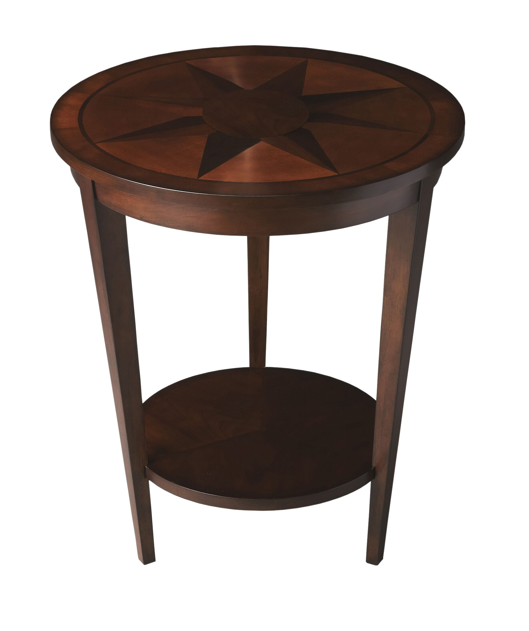 Laurier End Table Color: Nutmeg