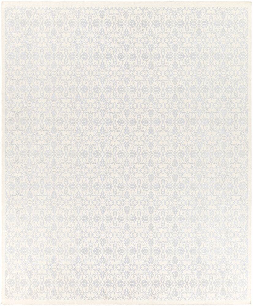 Barret Sky Blue/Ivory Area Rug Rug Size: Rectangle 8' x 10'