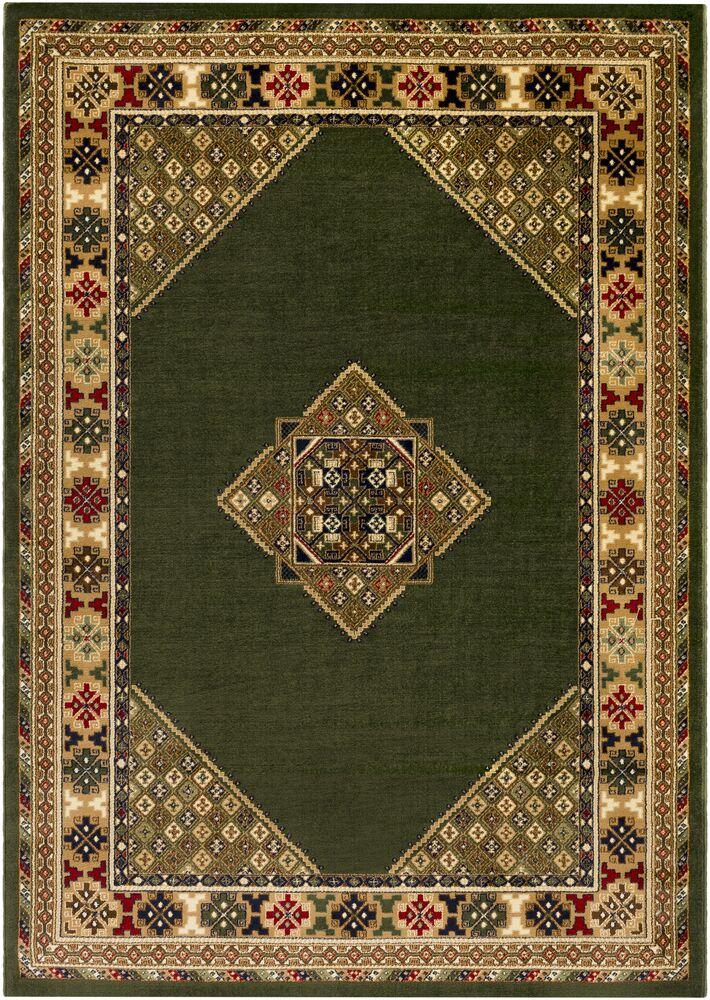 Batchelder Green/Beige Area Rug Rug Size: Rectangle 5' x 7'6