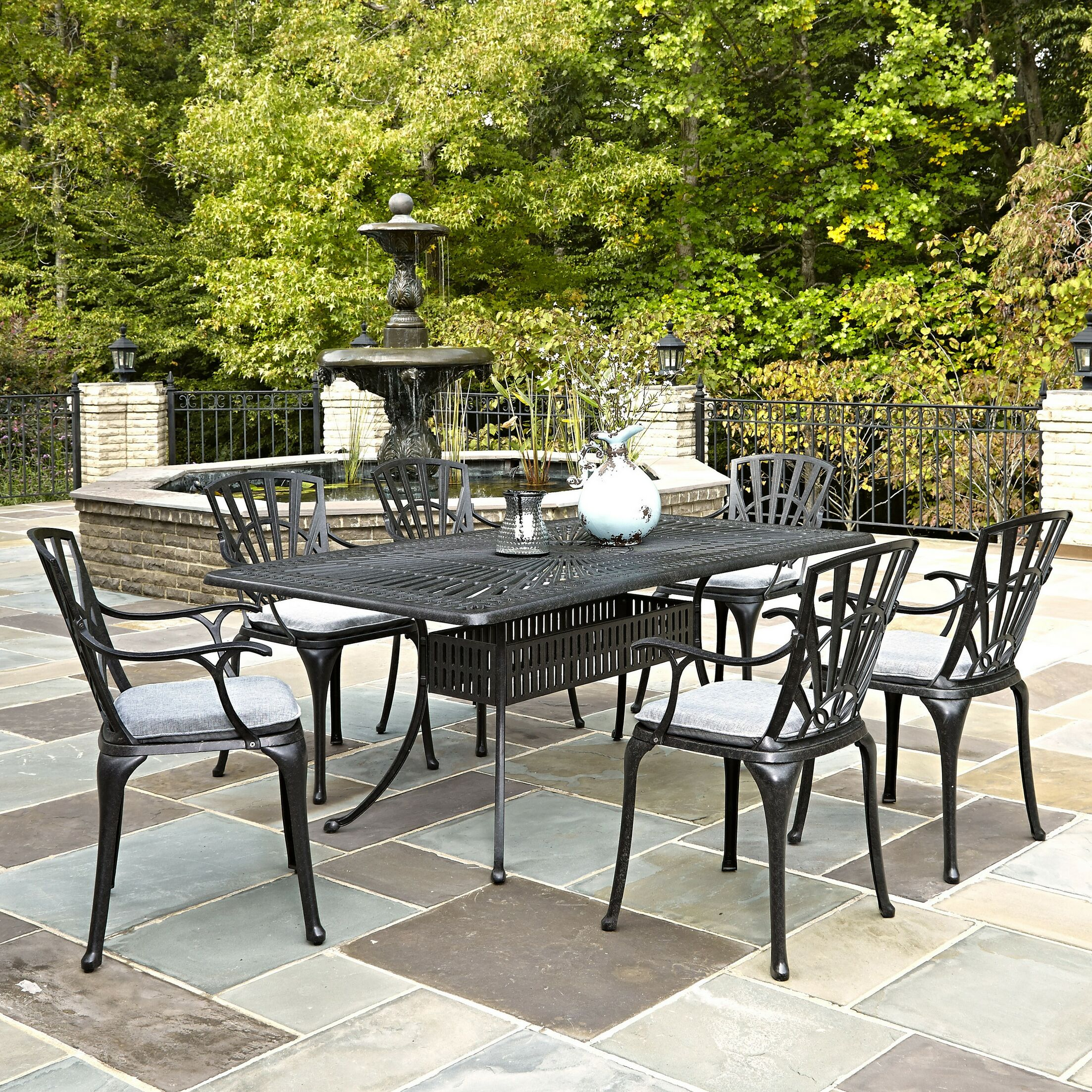 Frontenac 7 Piece Dining Set with Cushions