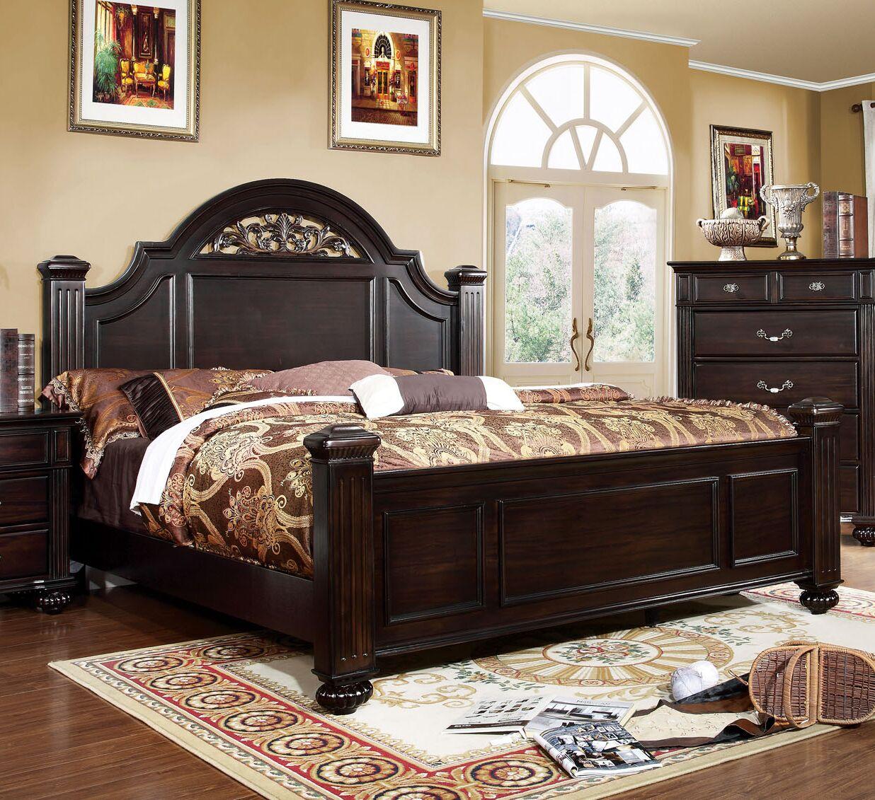 Wesleyan Panel Bed Size: California King