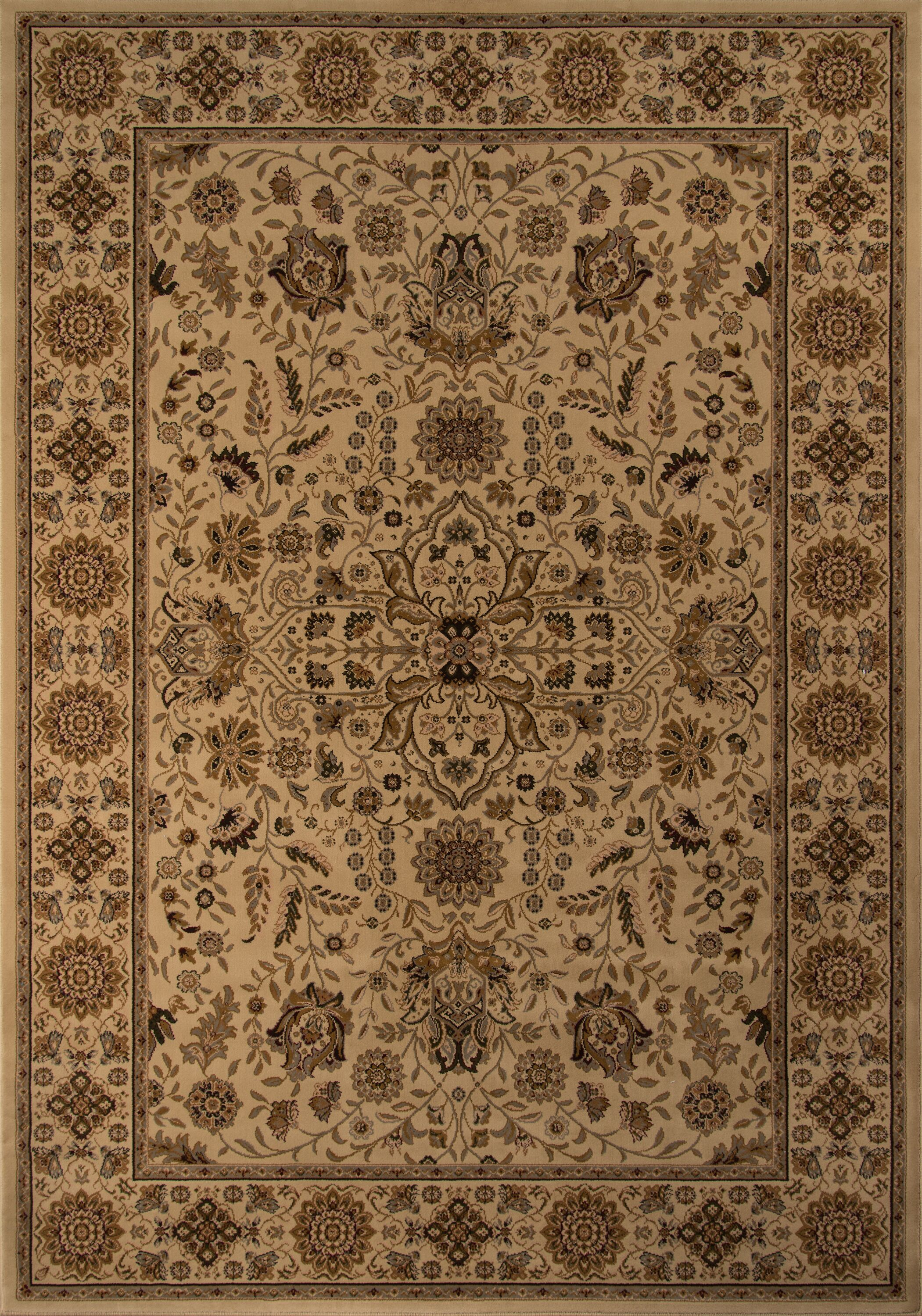 Mira Monte Beige Area Rug Rug Size: Rectangle 11'3